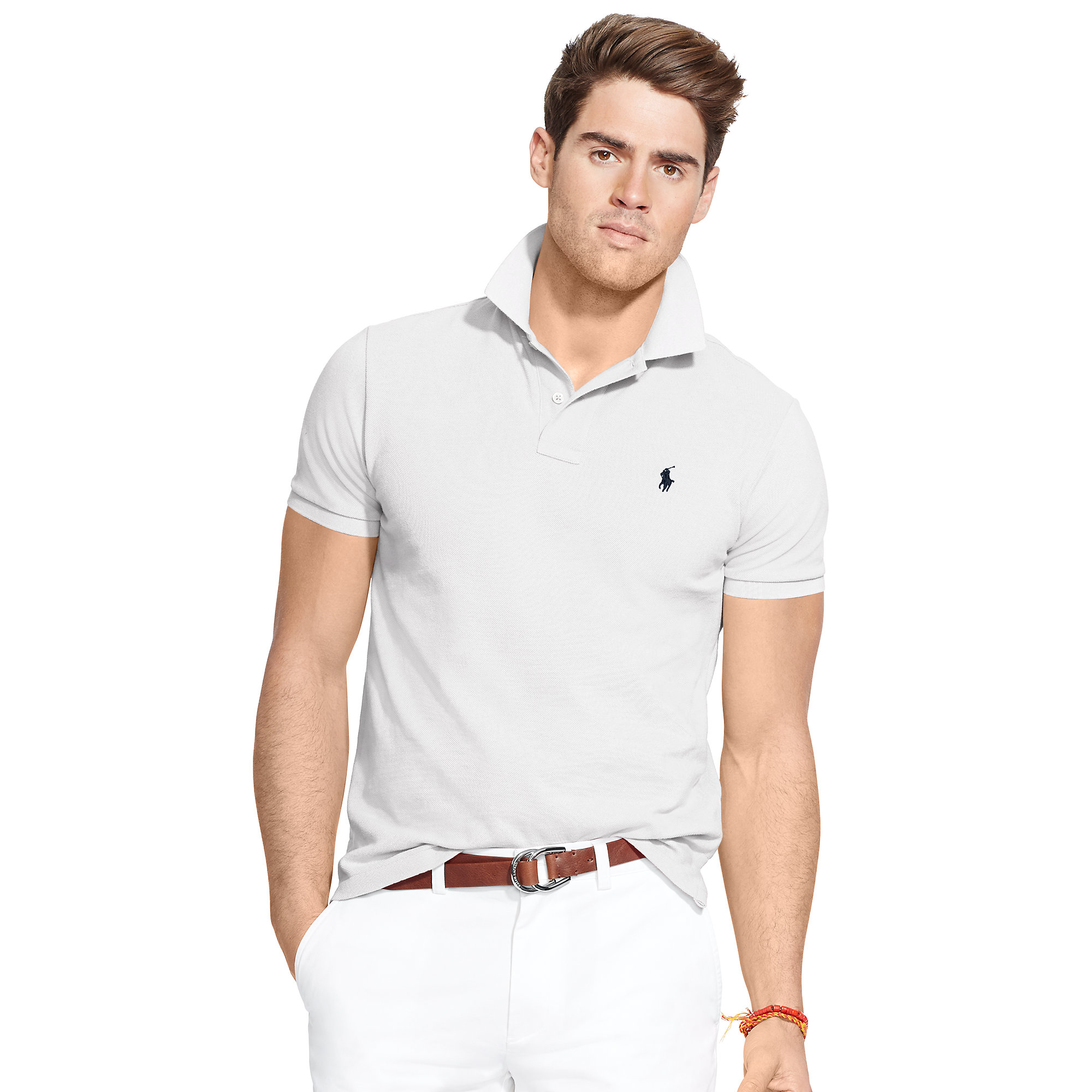 4c0688291 Ralph Lauren Stickup Long Sleeved Mesh Polo - Jaimonvoyage.com