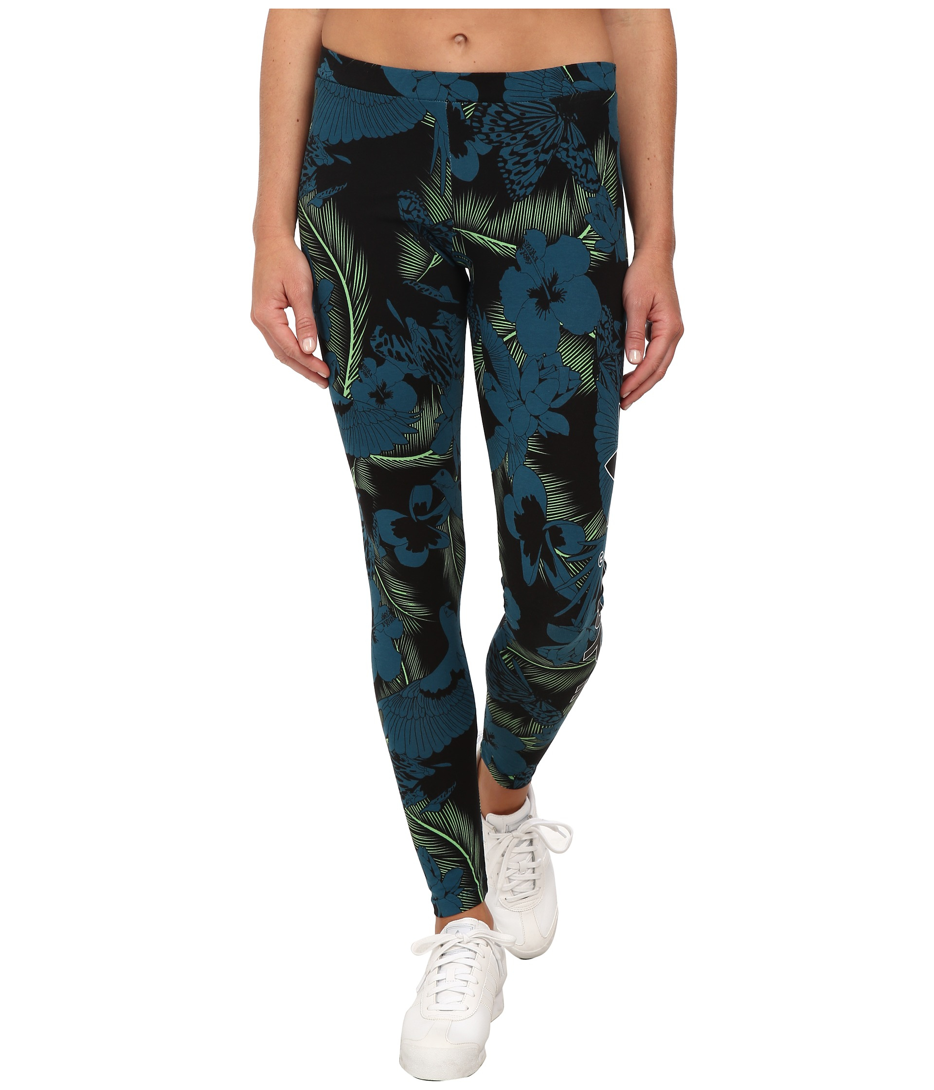 5fa3b09c5ded1a adidas Originals Hawaii Legging in Blue - Lyst