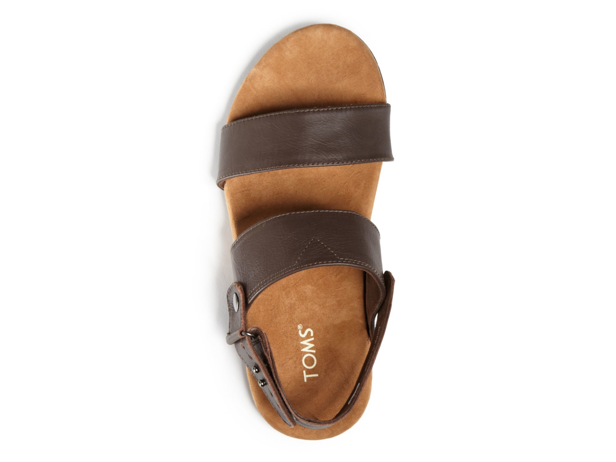 b5b59ca67168e Lyst - TOMS Moreno Woven Sandals in Brown for Men