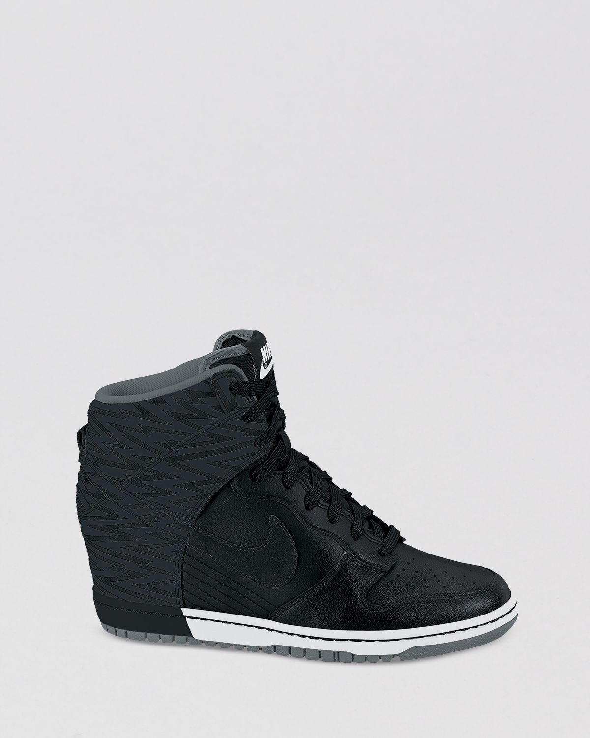 Nike Lace Up High Top Wedge Sneakers Womens Dunk Sky Hi in ...