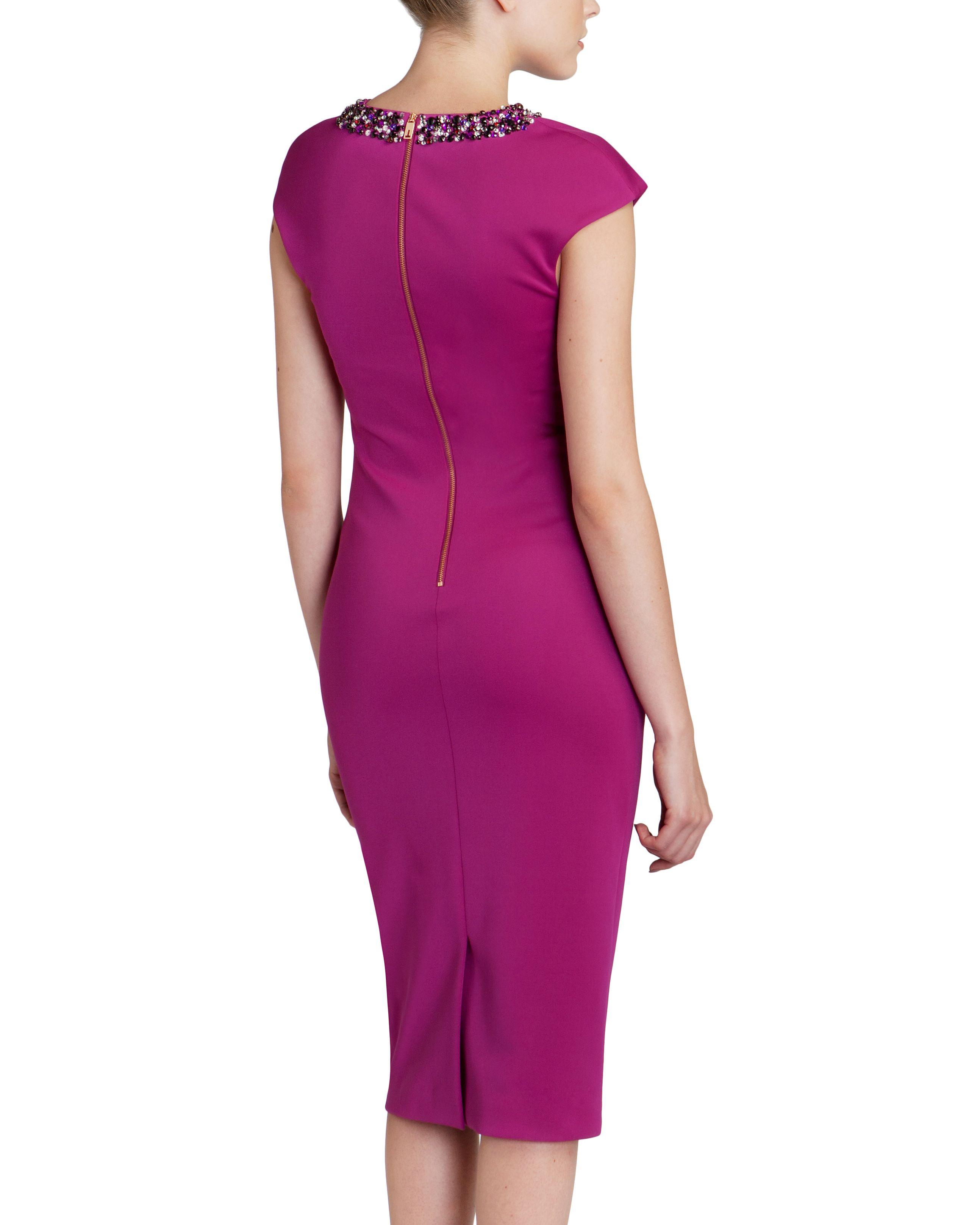 Hermosa Vestido De Fiesta De Ted Baker Ornamento - Colección del ...