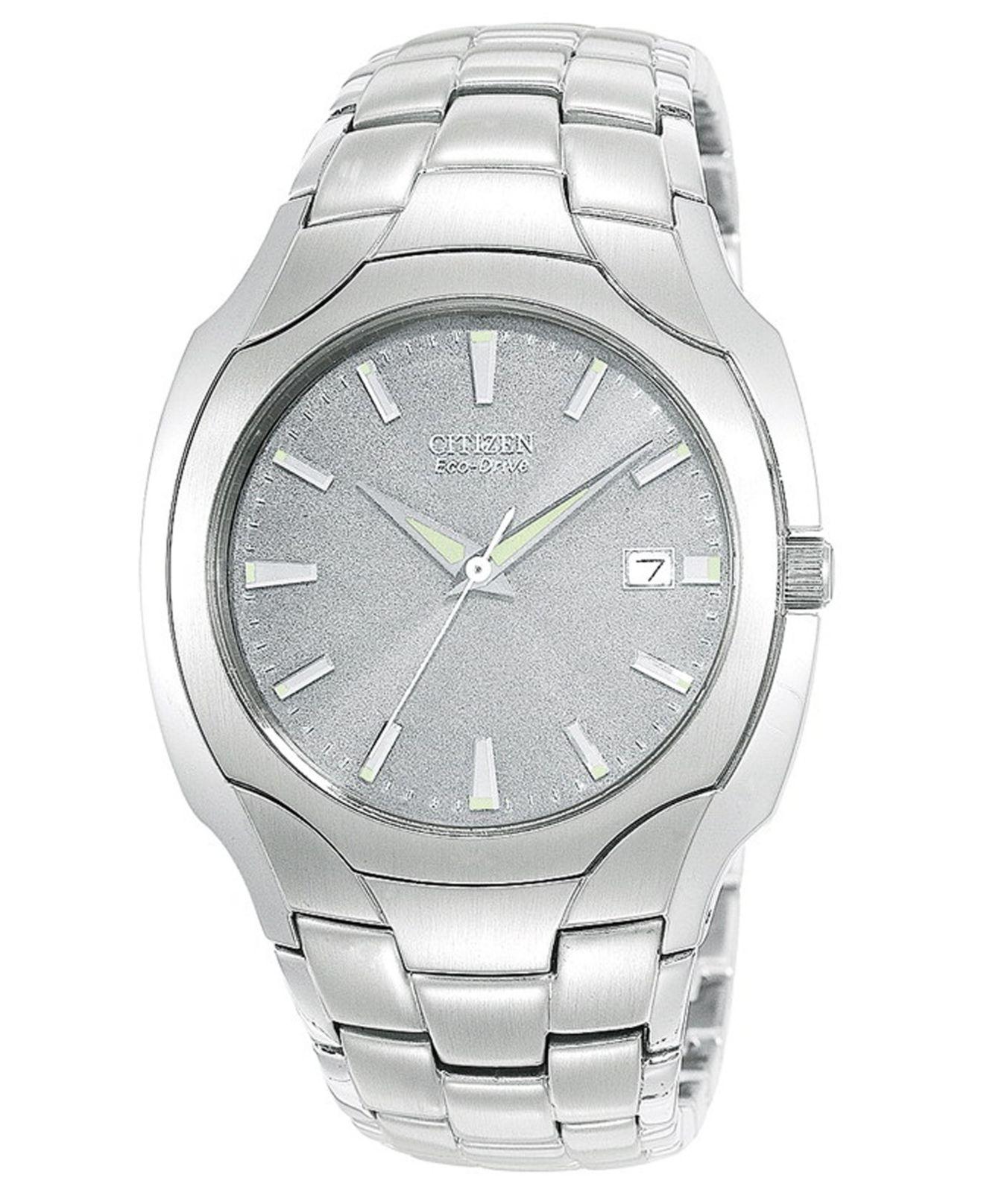 Citizen Men's Eco-drive Stainless Steel Bracelet Watch ...