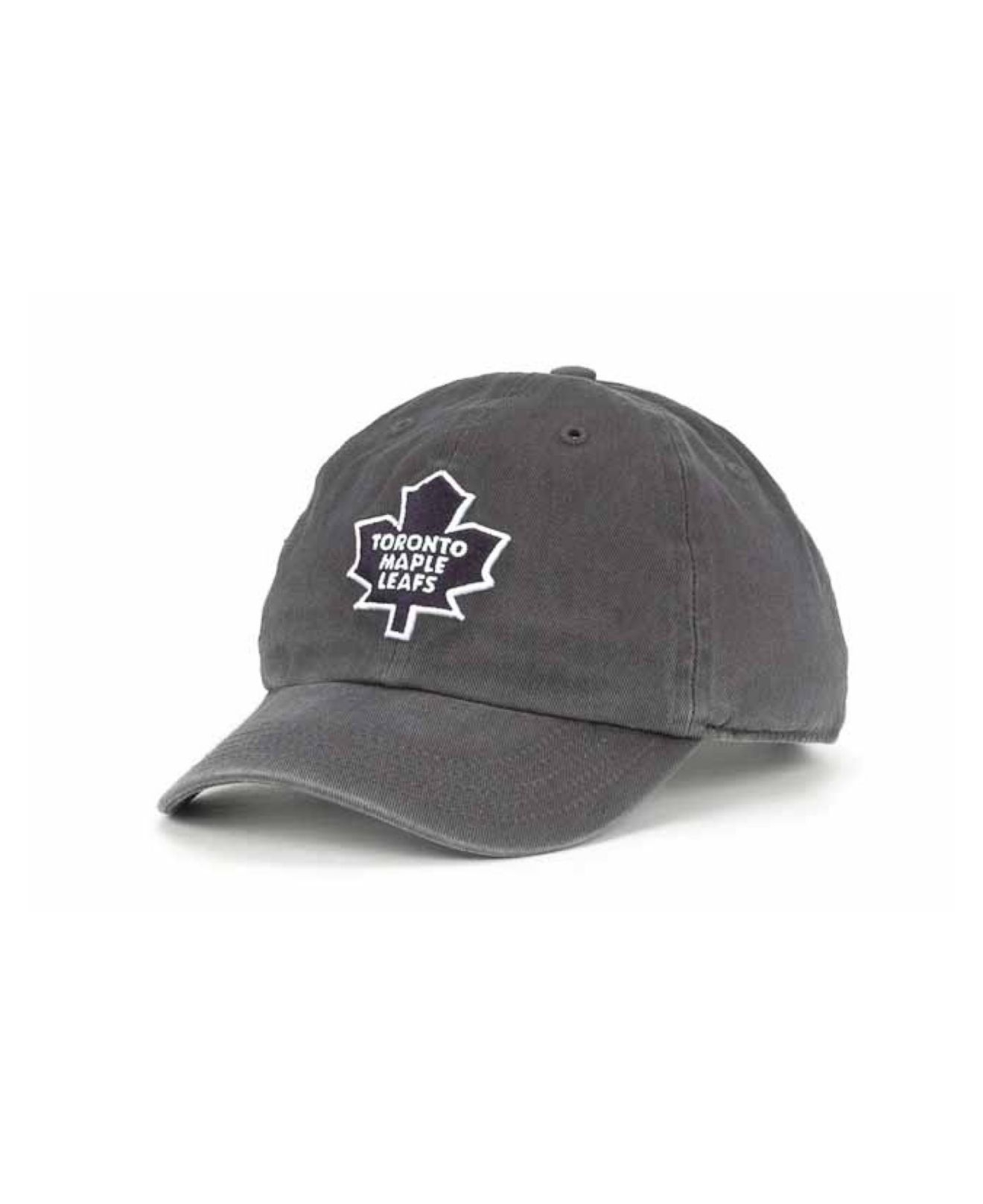 Lyst - 47 Brand Kids  Toronto Maple Leafs Clean-up Cap in Blue for Men c652658d8470