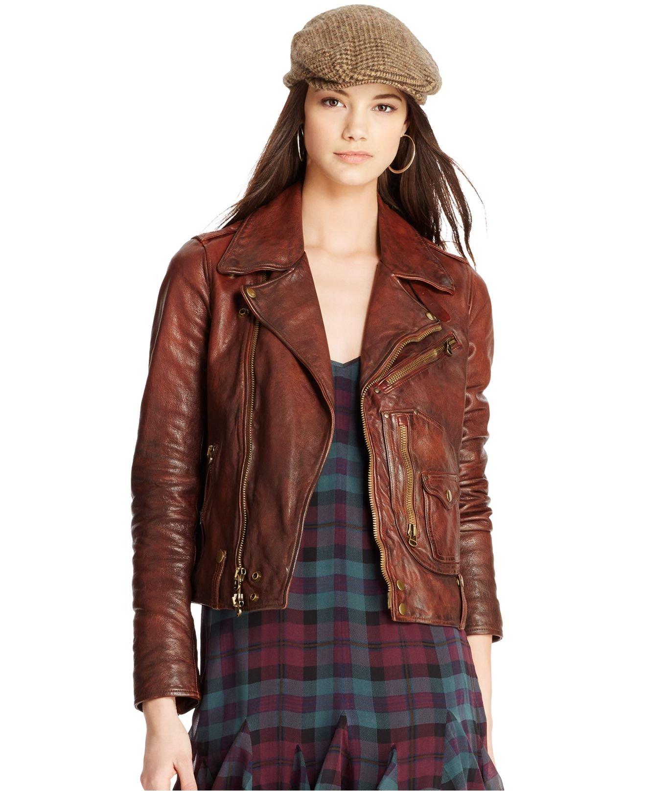Ralph Lauren Jess Tweed Jacket in Brown (nude & neutrals