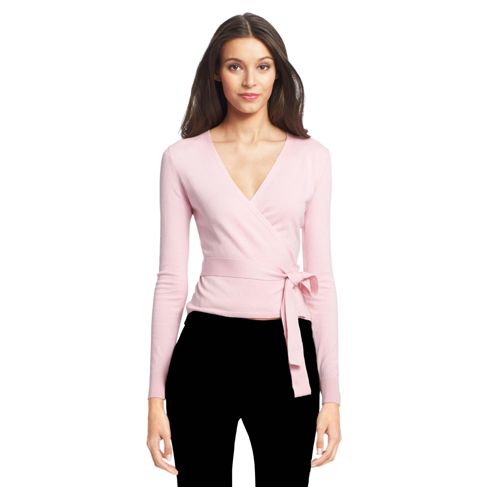 Ballerina Cashmere Wrap Sweater