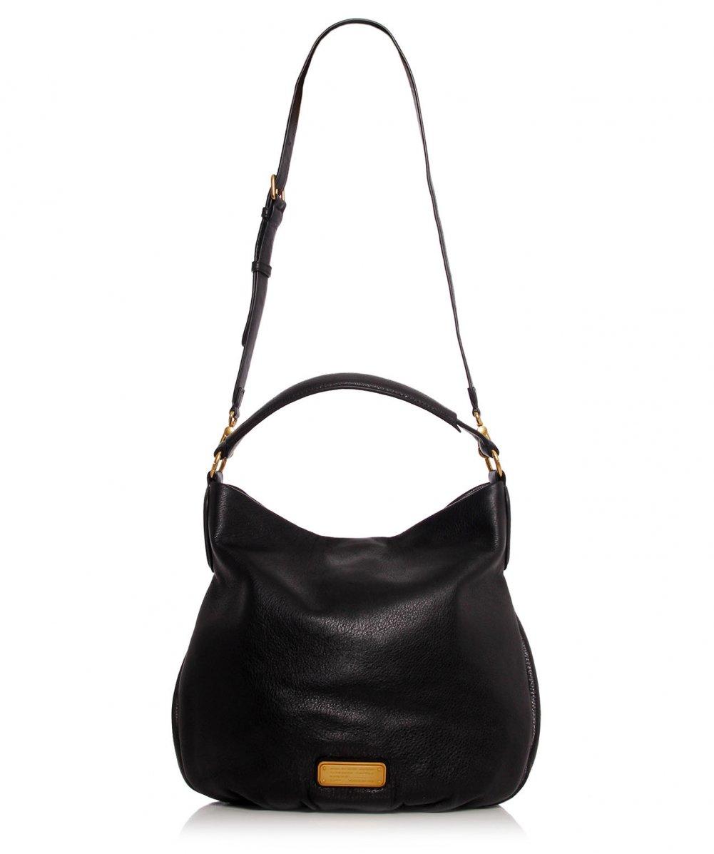 5ebe78e8a9cd5 Lyst - Marc Jacobs New Q Hillier Hobo Bag in Black