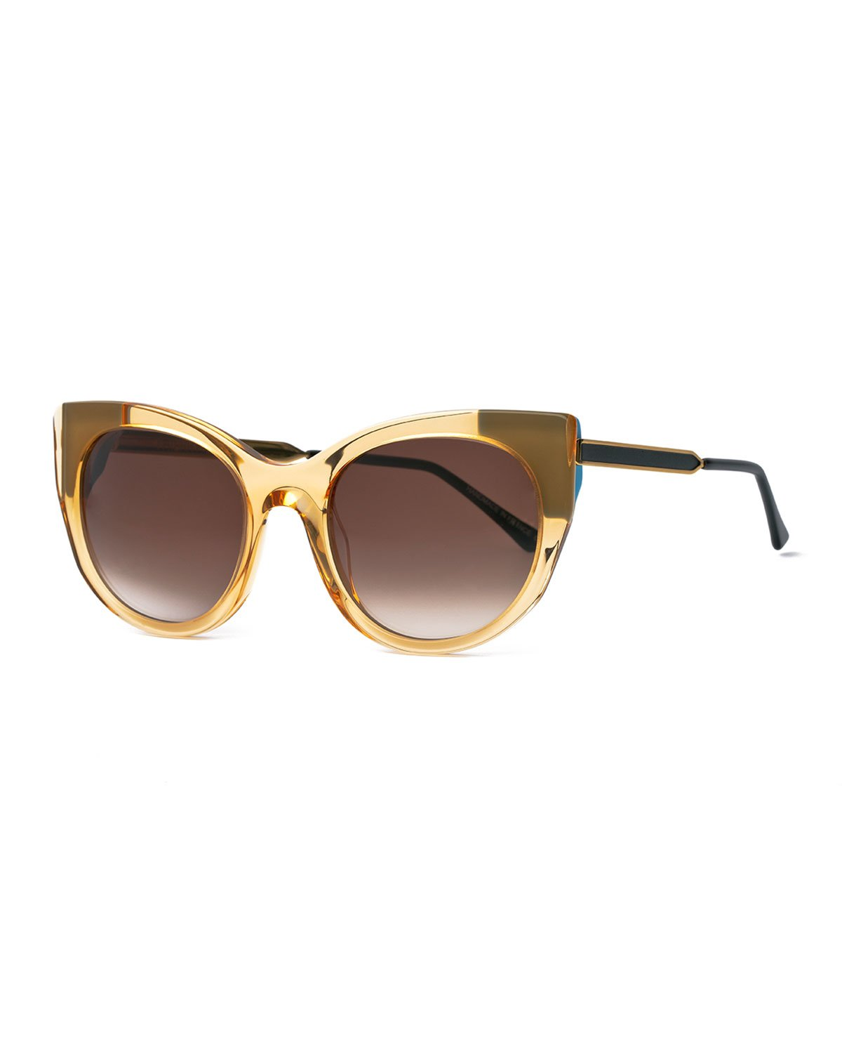 5f6744b621 Lyst - Thierry Lasry Bunny Cat-eye Sunglasses in Yellow