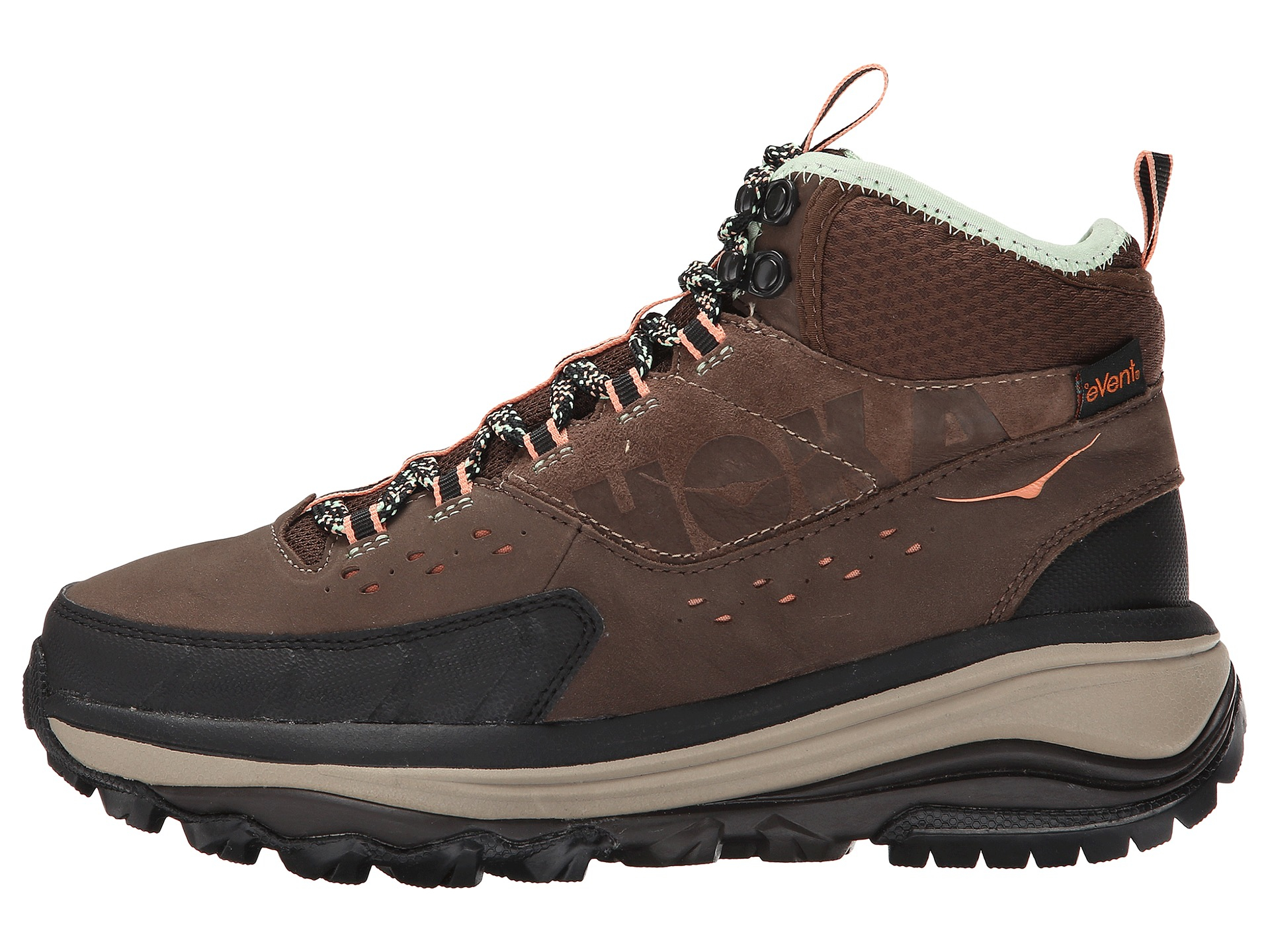 Hoka One One Tor Summit Mid Wp In Brown Brown Patina