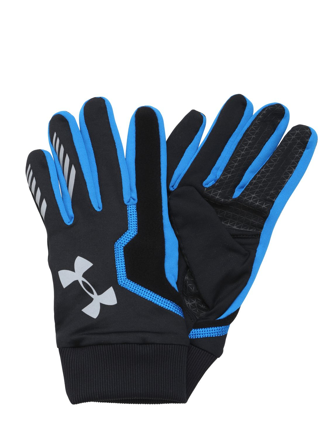 b9c116142b4 Under Armour Coldgear Infrared Engage Running Gloves In Black Lyst