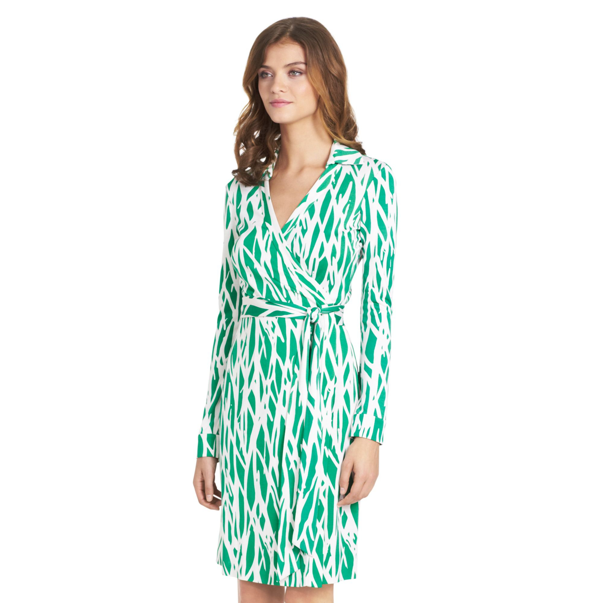 Diane von furstenberg new jeanne two silk jersey wrap for Diane von furstenberg clothes