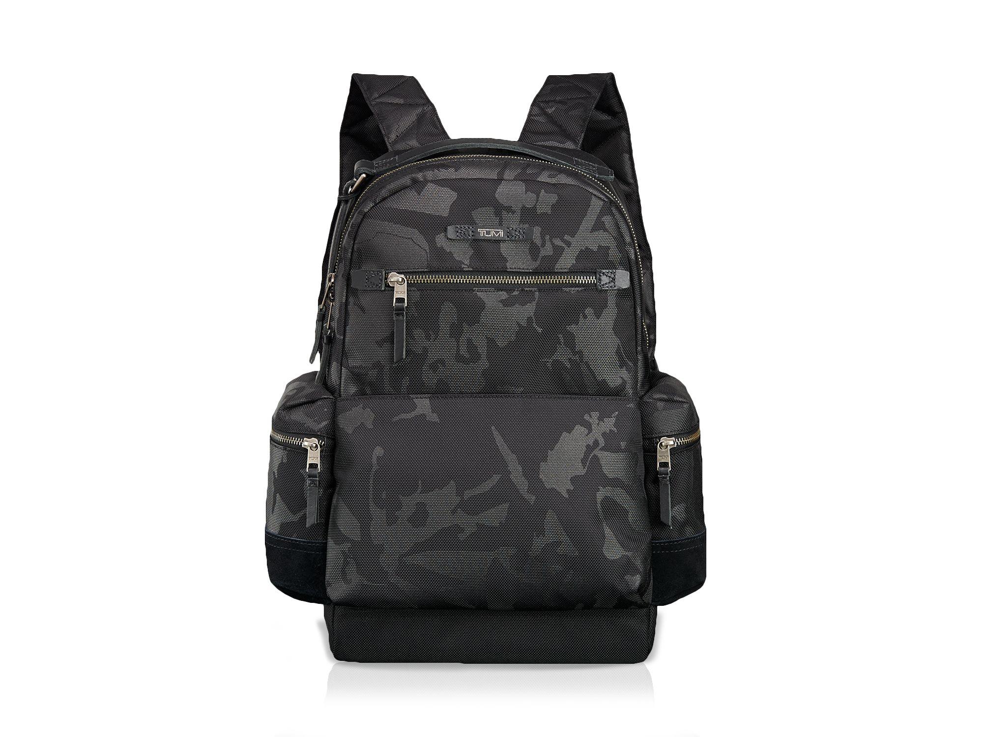 Tumi Dalston Massie Backpack in Black Camo (Black)
