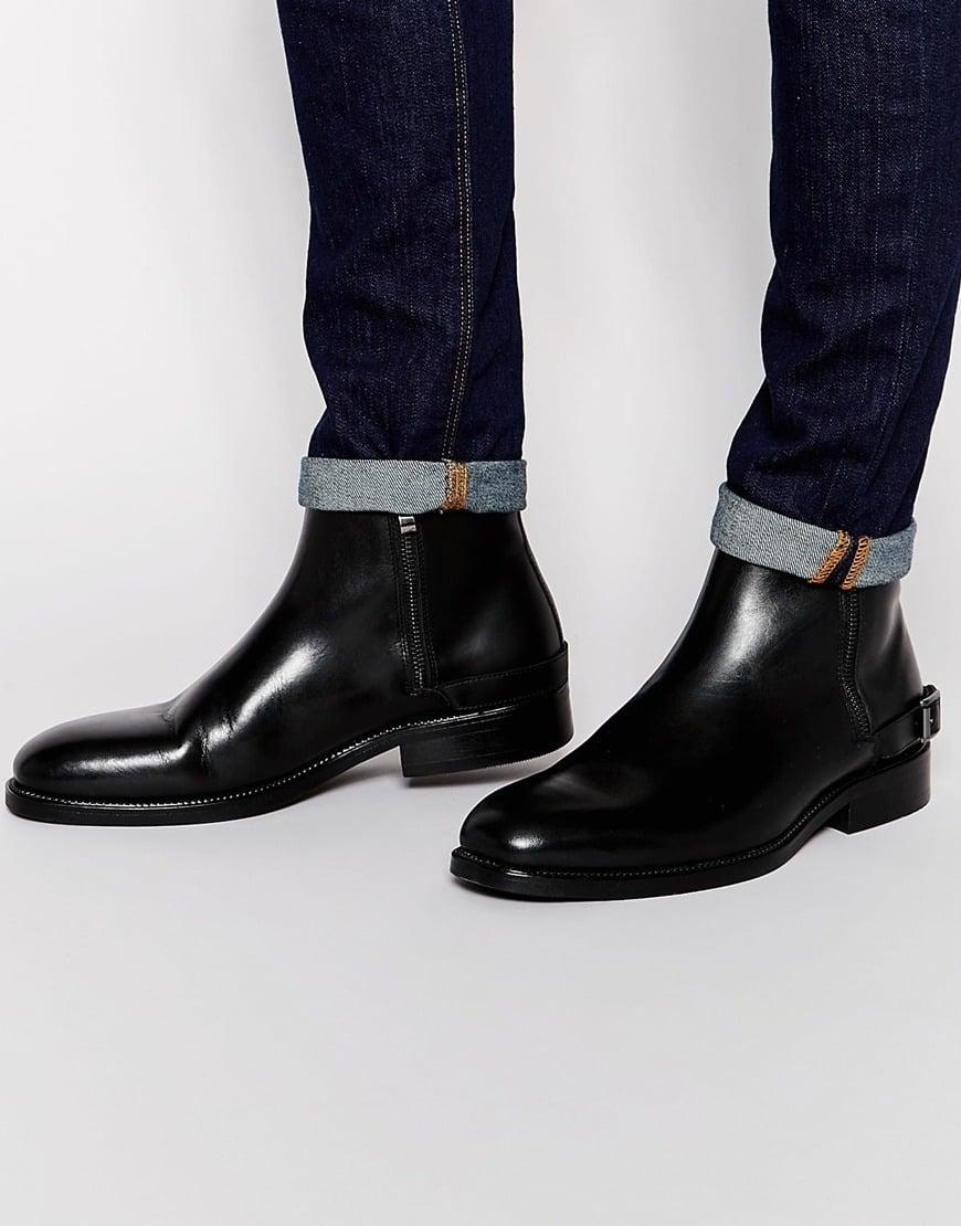 4e9484c0d2 Lyst - ALDO Bellisio Leather Double Zip Boots in Black for Men