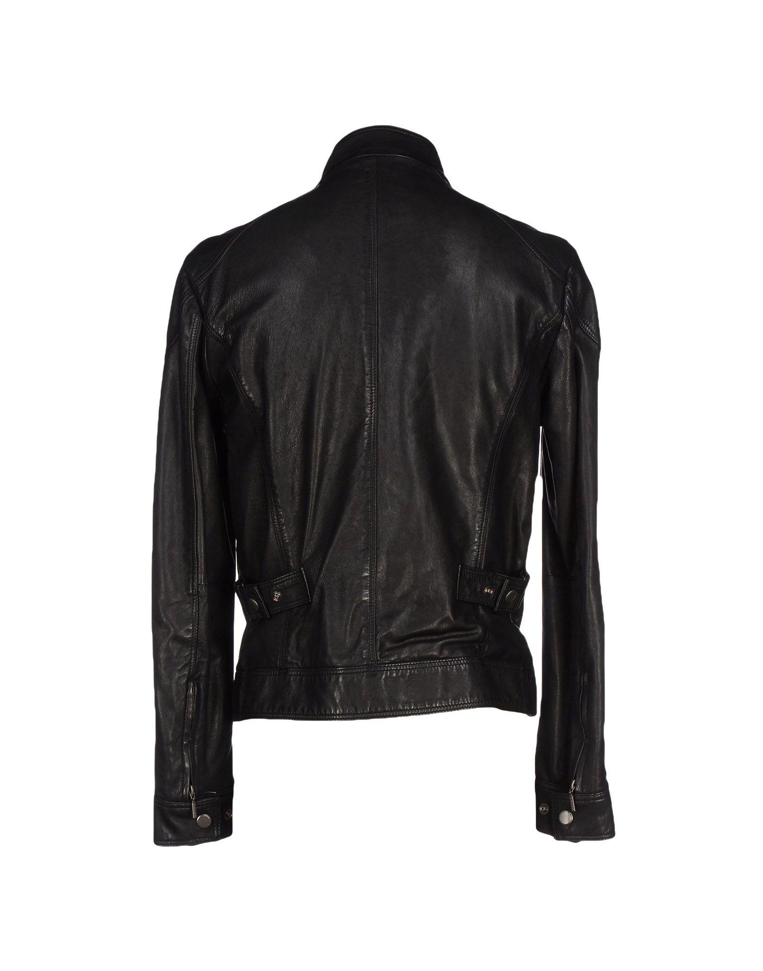 Brema Leather Jacket in Black for Men