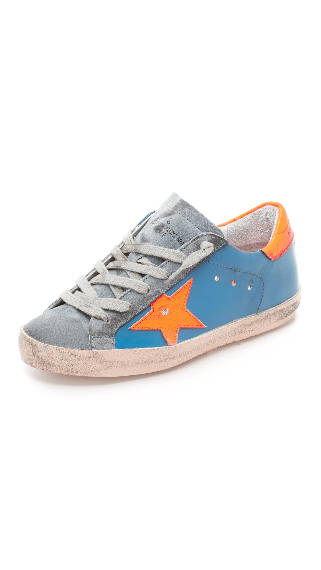 Superstar sneakers - Blue Golden Goose SWEH5u4jb