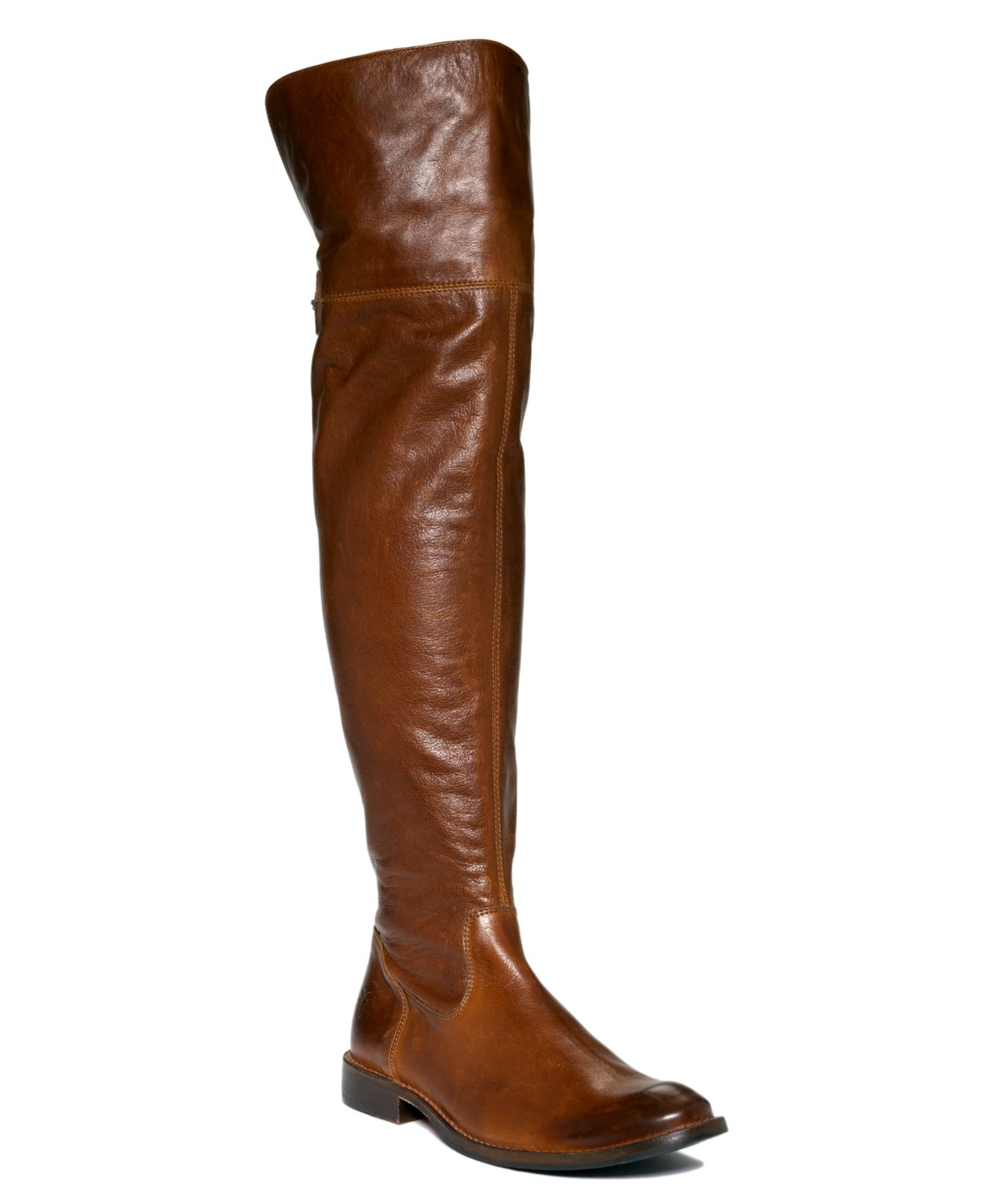 Frye Shirley Over The Knee Riding Boots in Brown | Lyst