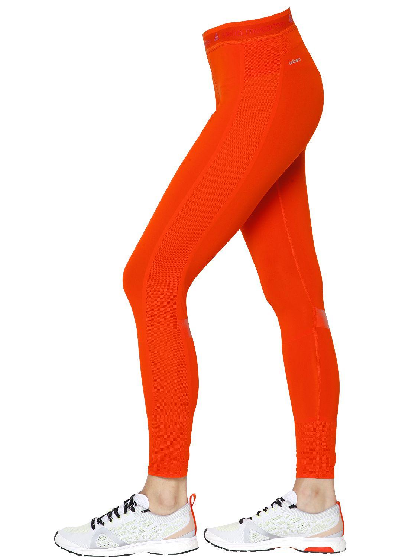 Orange Running Leggings - The Else