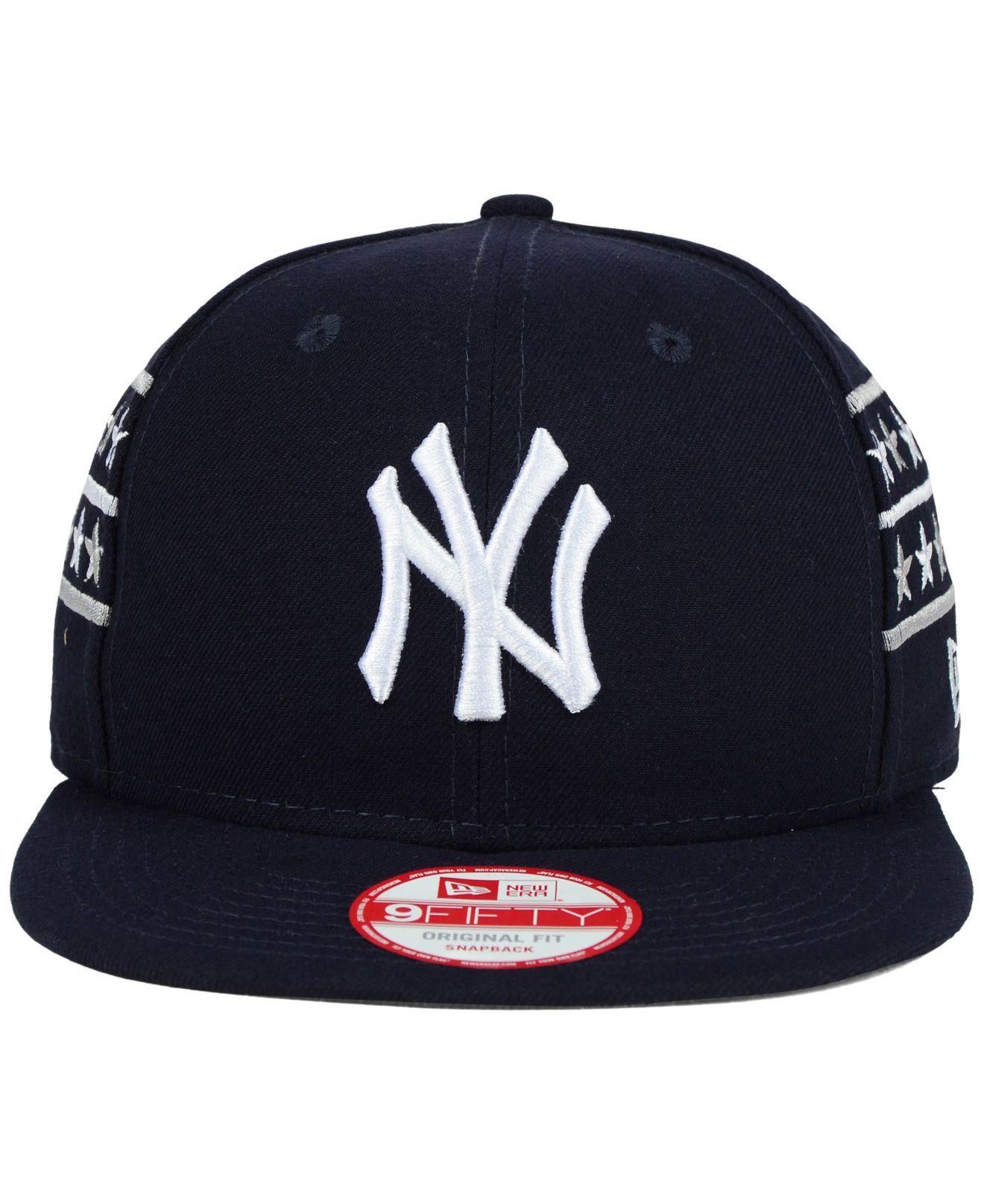 Lyst Ktz New York Yankees Fine Side 9fifty Snapback Cap