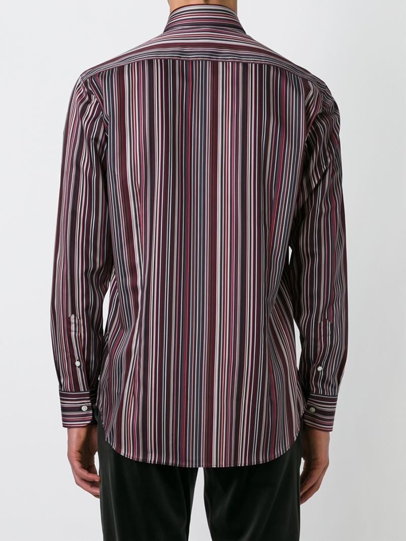 shirts striped vertical red