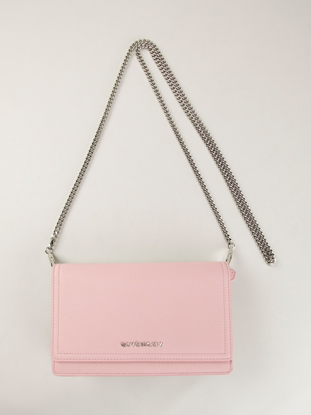Lyst - Givenchy Pandora Mini Shoulder Bag in Pink 8ff406afb8348