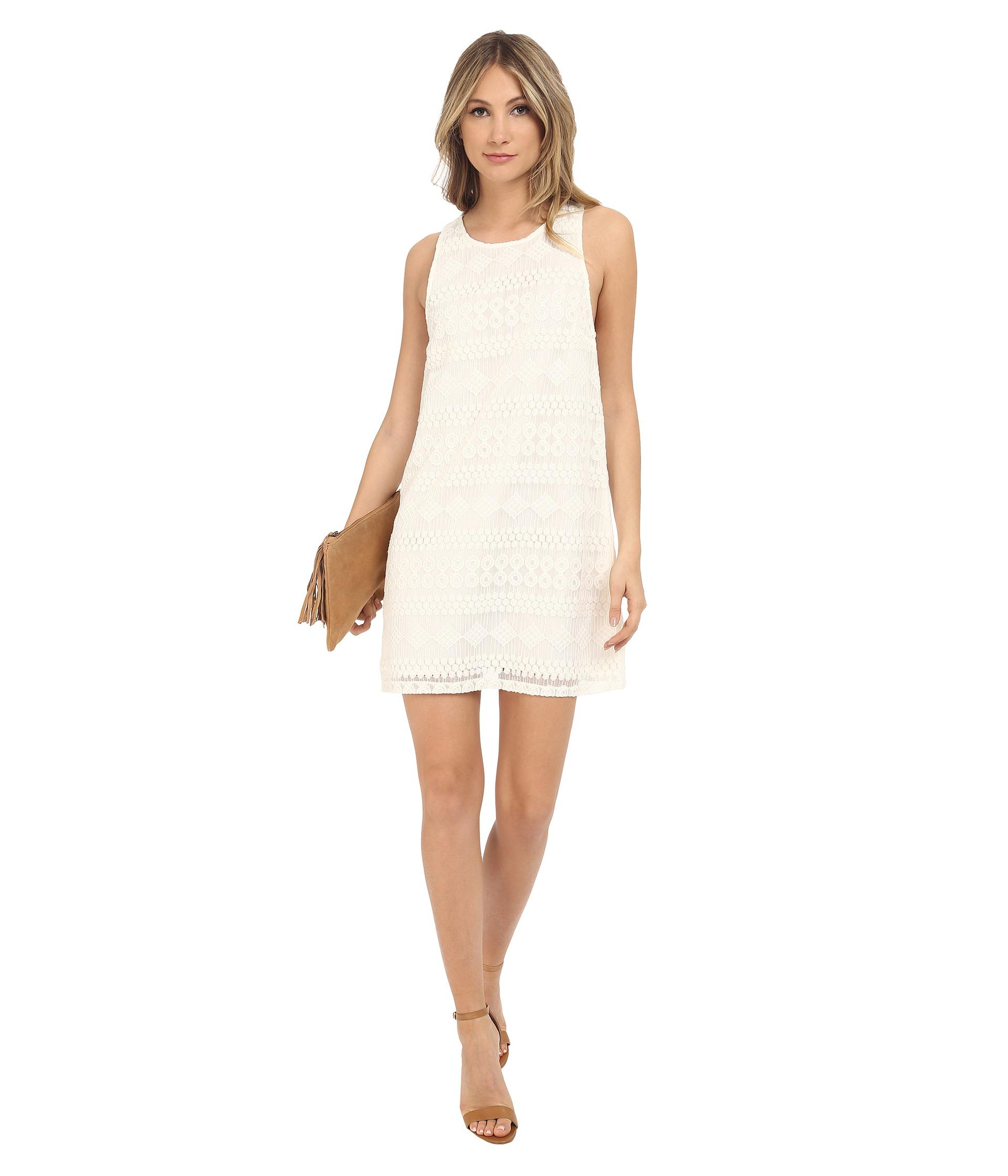Paige Lace A Line Tank Dress