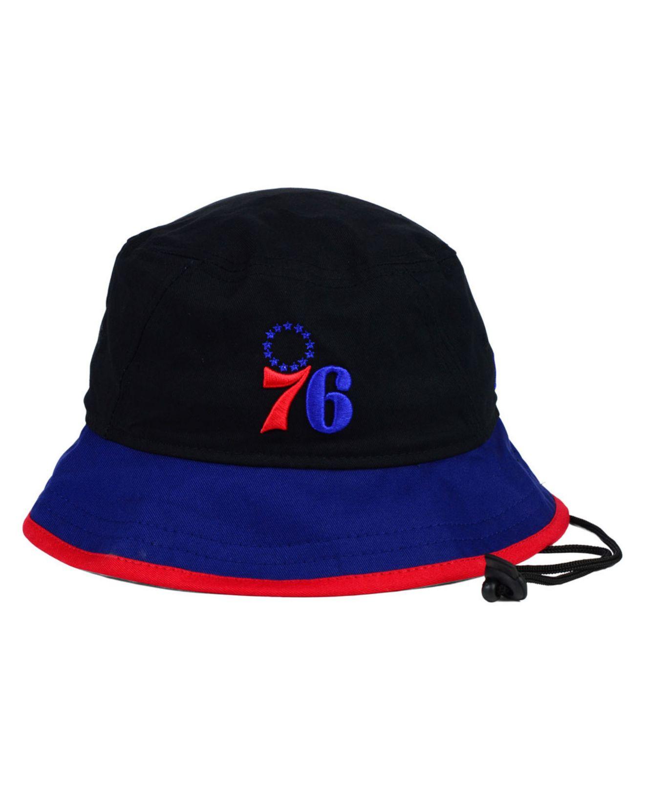 43d4ea72e inexpensive philadelphia 76ers bucket hat 97c53 3c871