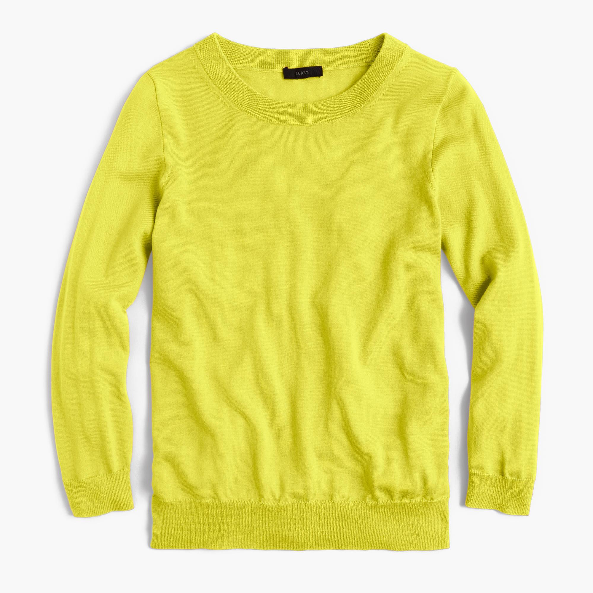J.crew Tippi Sweater in Yellow | Lyst