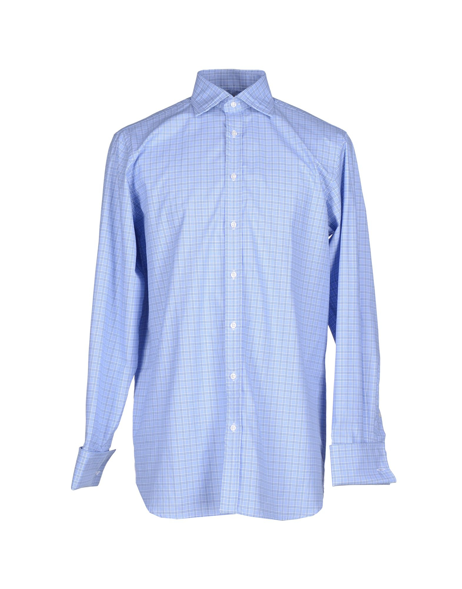 Thomas Pink Shirt In Blue For Men Lyst