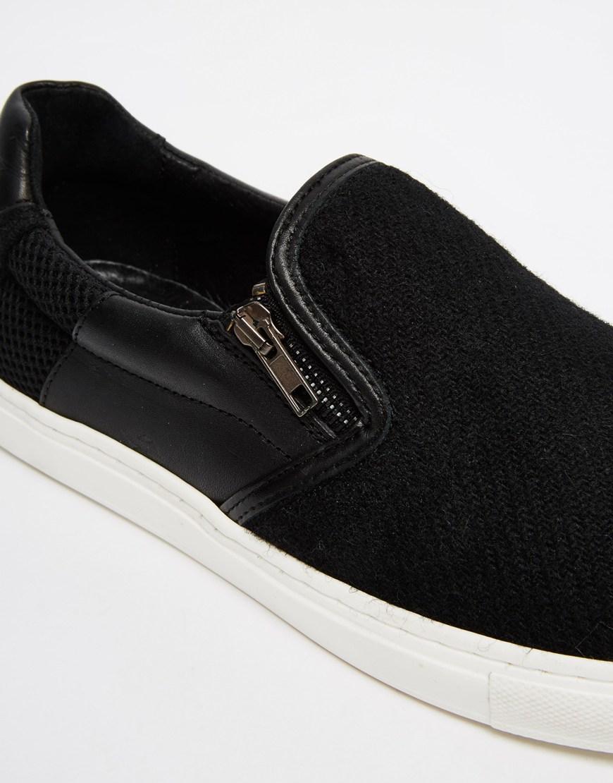In Slip Plimsolls Leather Harris Tweed On trhCsdQ