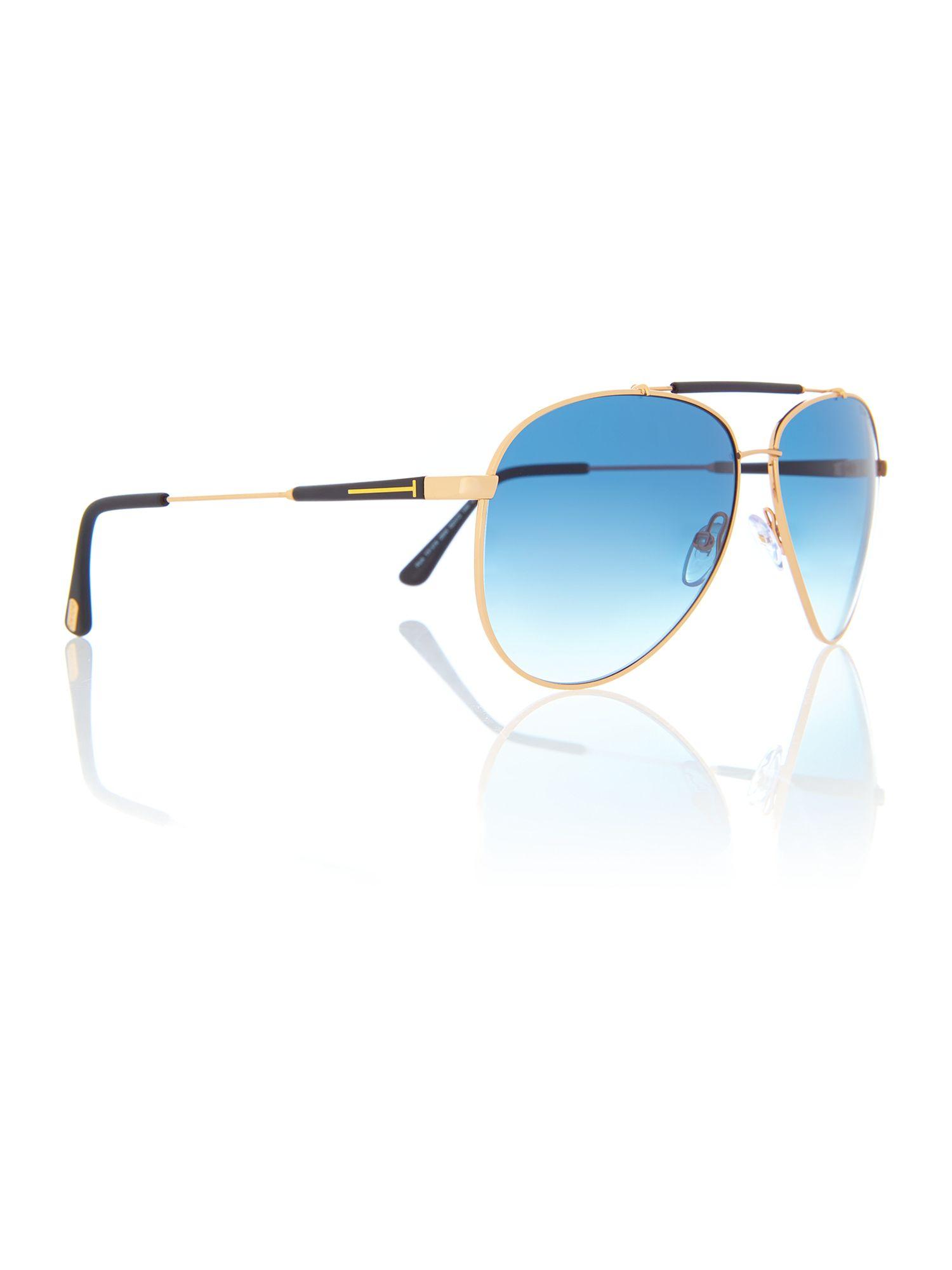 Tom Ford 0Tr000571 Rectangle Sunglasses in Blue for Men