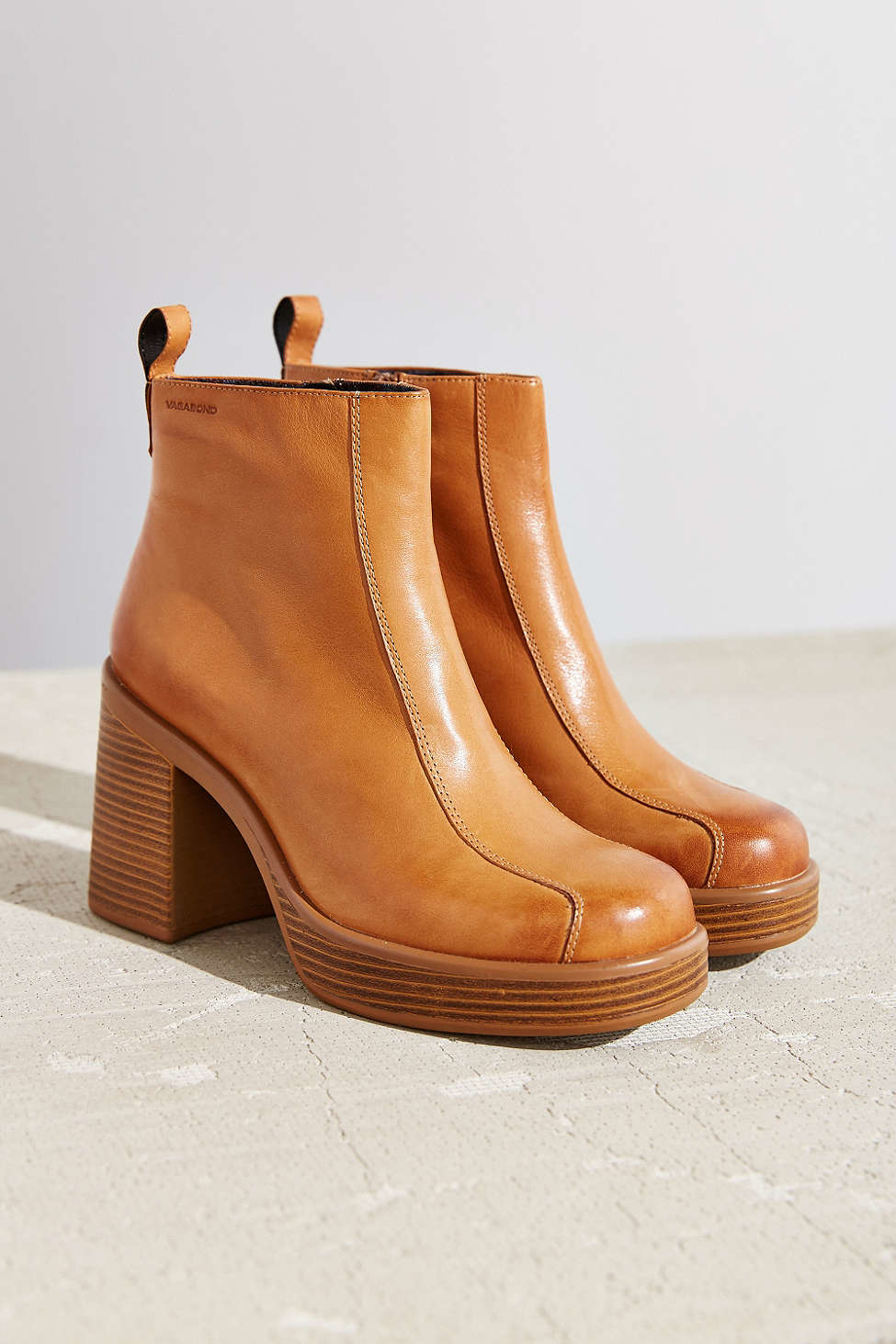 Lyst Vagabond Tyra Boot In Brown