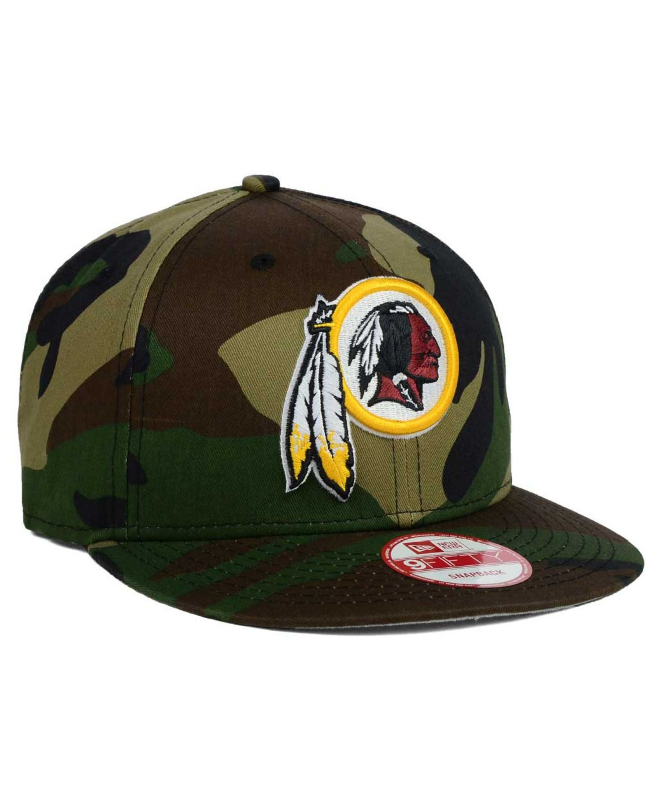 Lyst - KTZ Washington Redskins Woodland Camo Team Color 9fifty ... 0b73e3a73