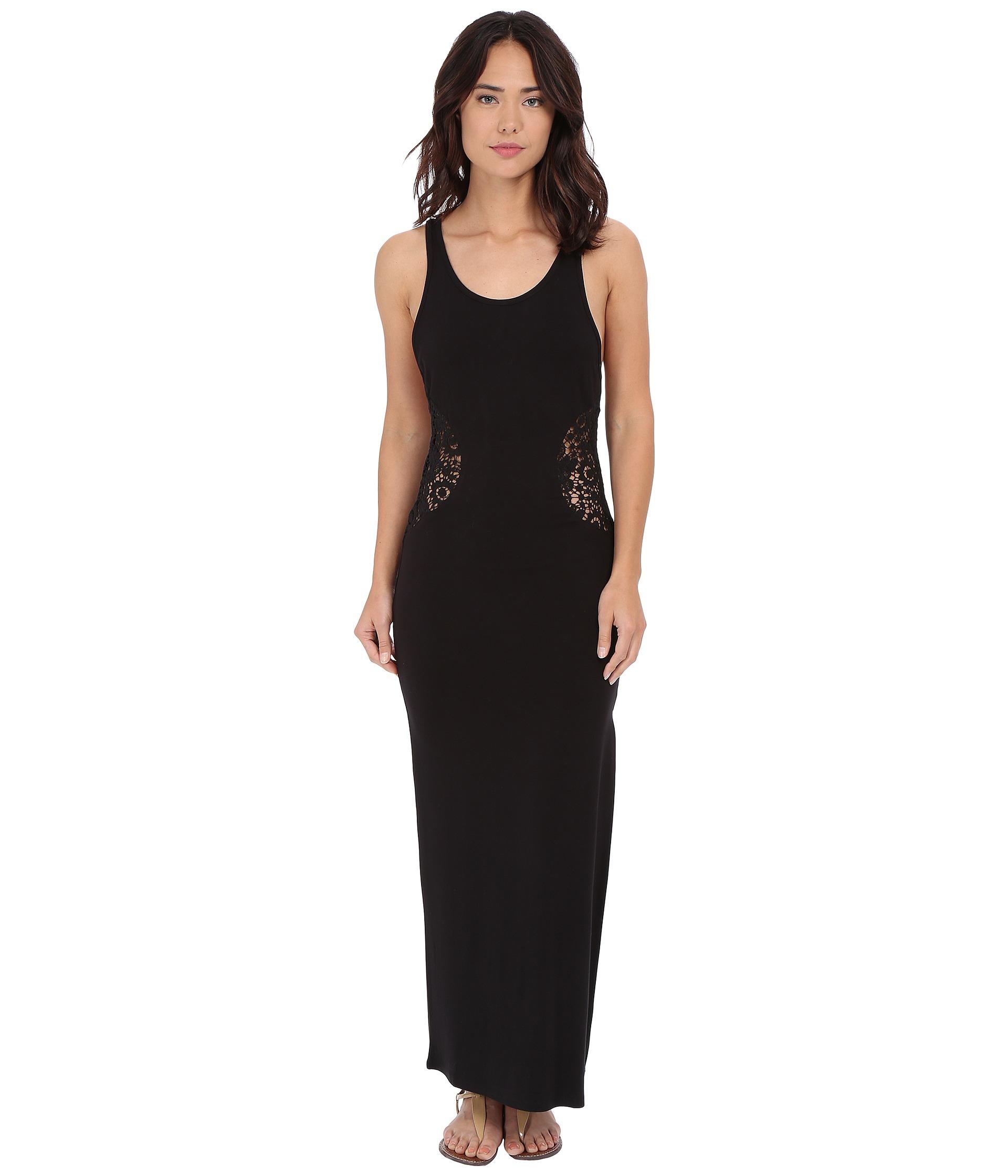 Rip curl Empress Maxi Dress in Black  Lyst