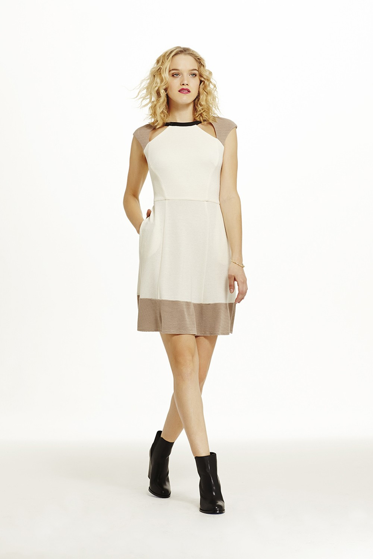 Abs White Dress