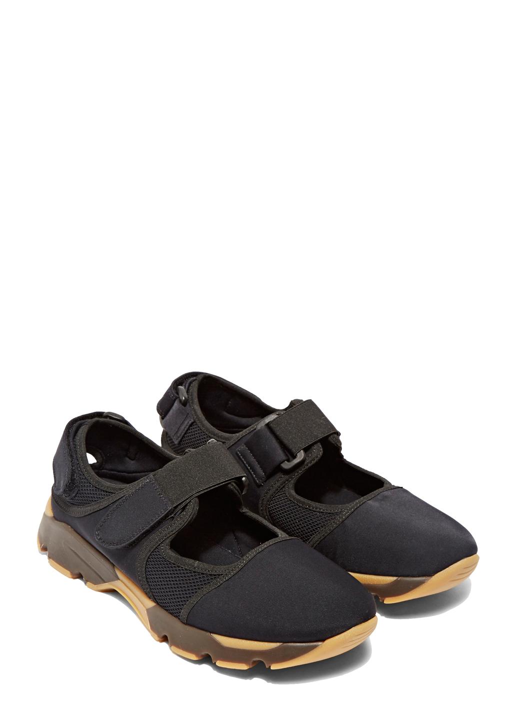 Marni Velcro Sneakers in Blue