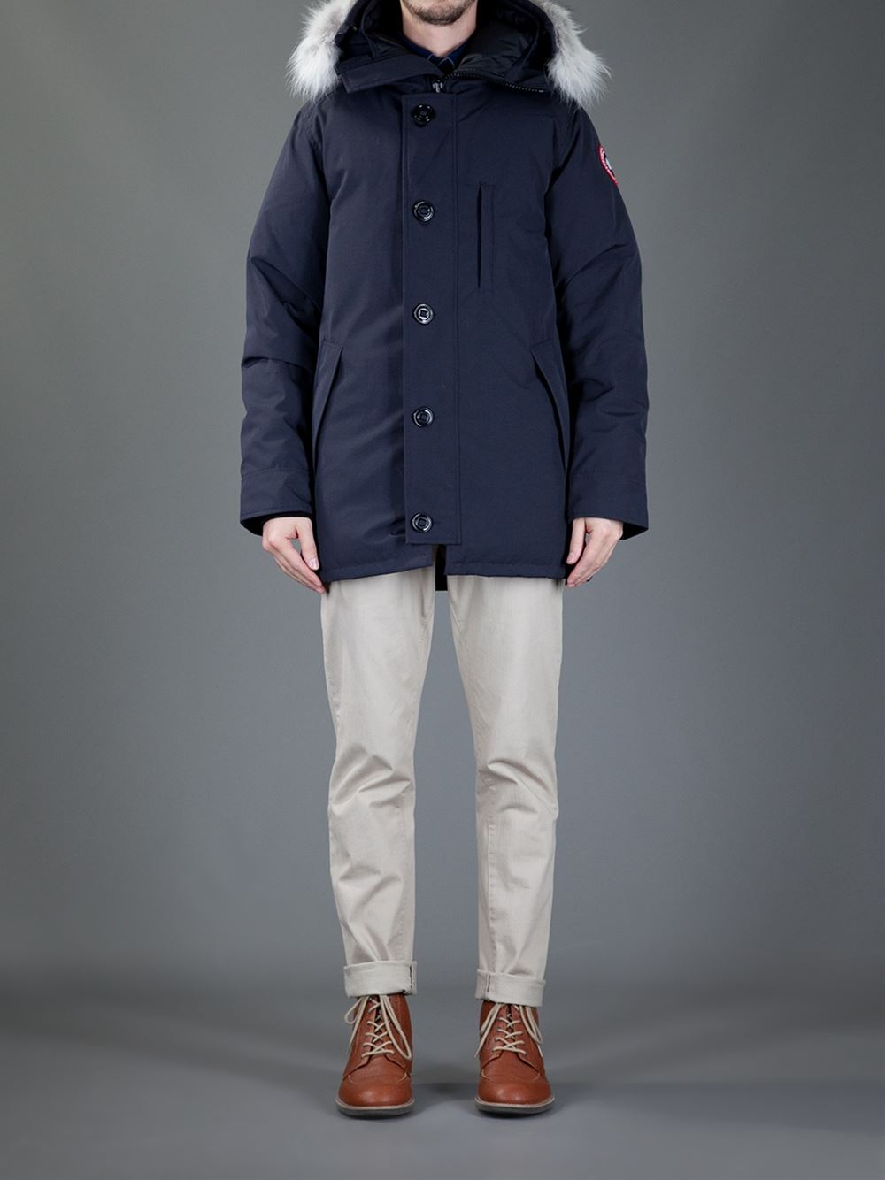 Canada Goose montebello parka outlet shop - Canada goose 'chateau' Parka in Blue for Men | Lyst