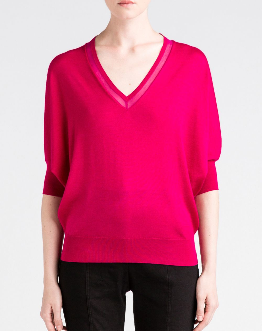 Lyst - Lanvin Top in Purple