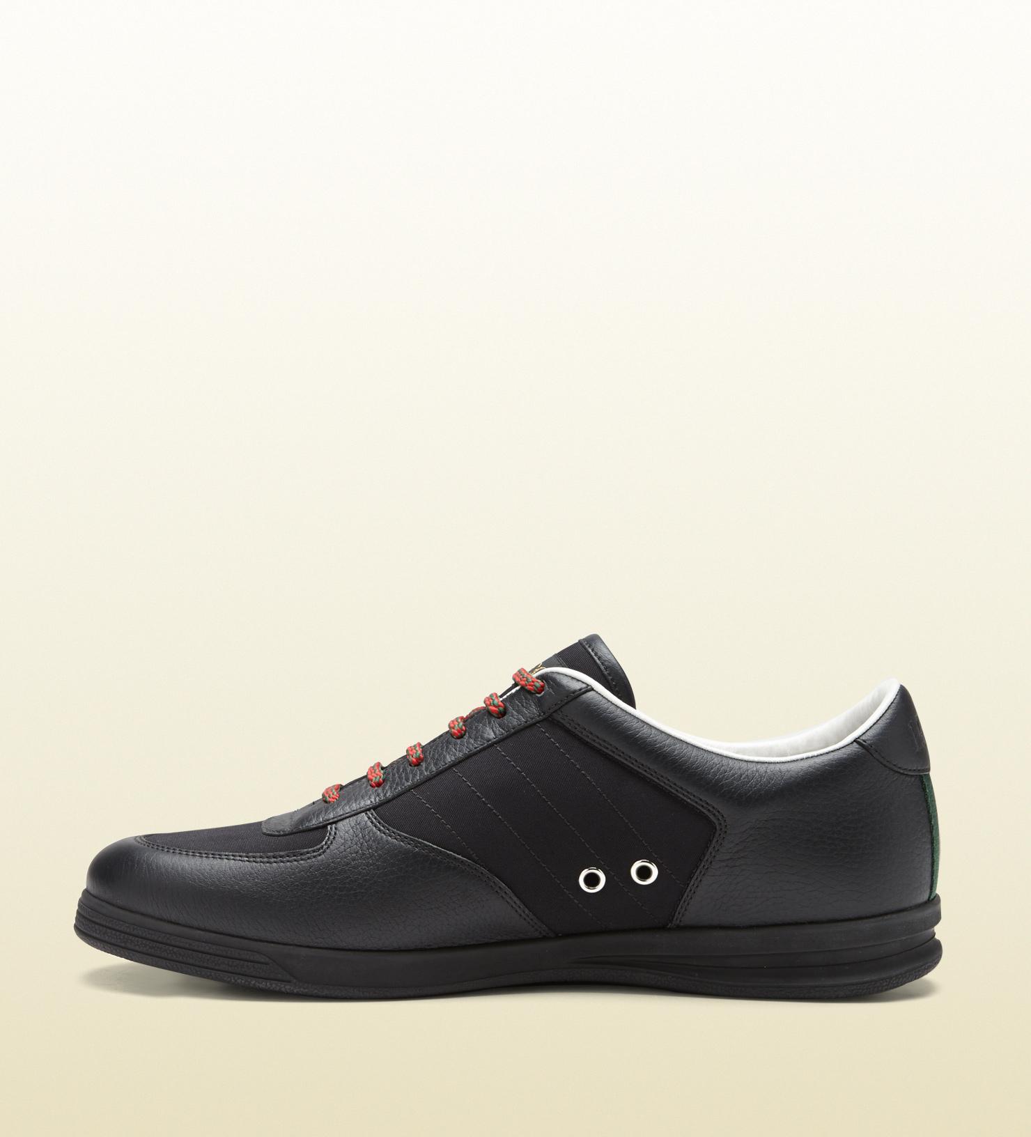 ddf4201227b Lyst - Gucci 1984 Low Top Sneaker In Leather in Black for Men