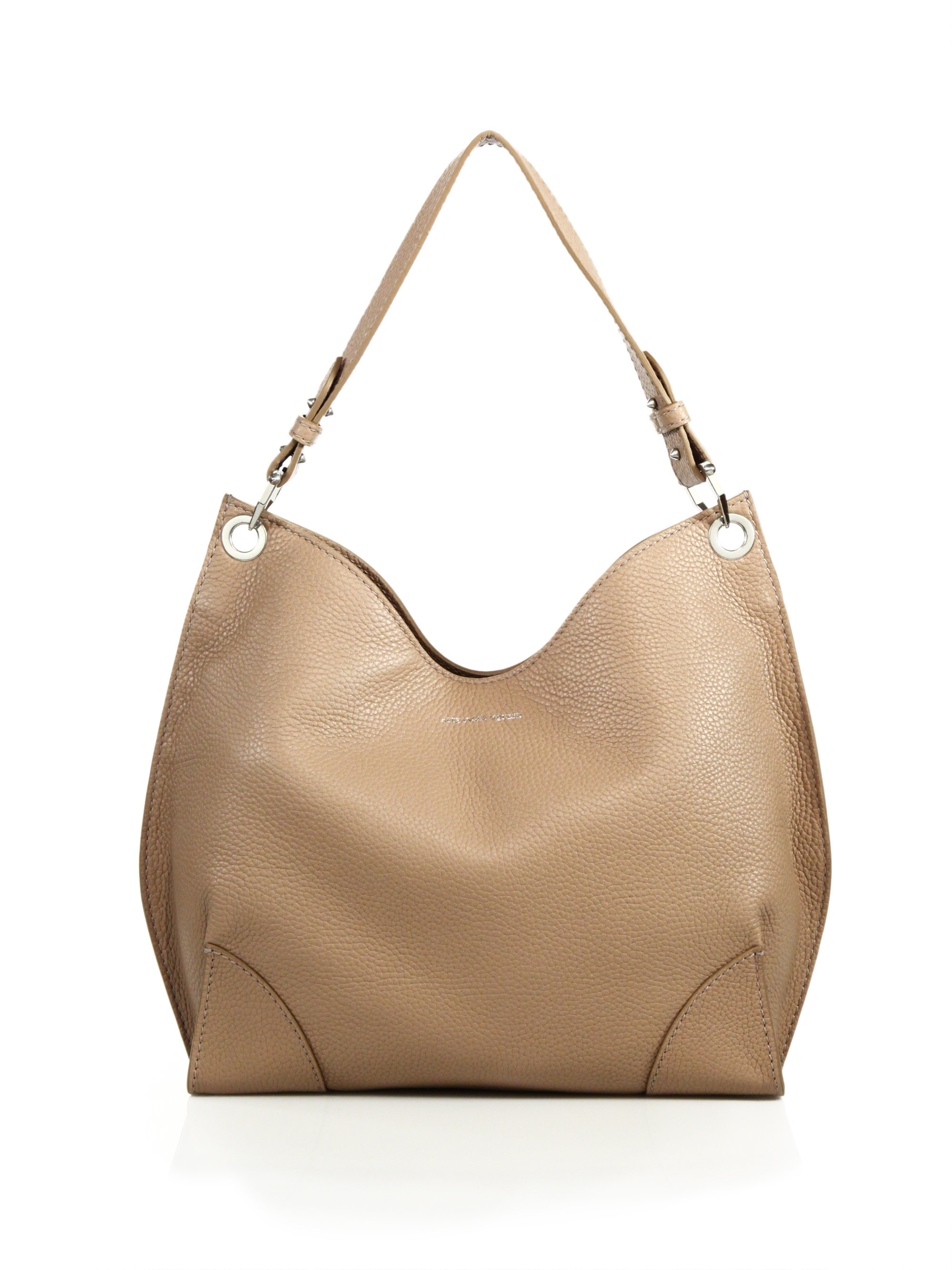 1774be6a57 Lyst - Alexander McQueen Legend Small Leather Hobo Bag in Natural