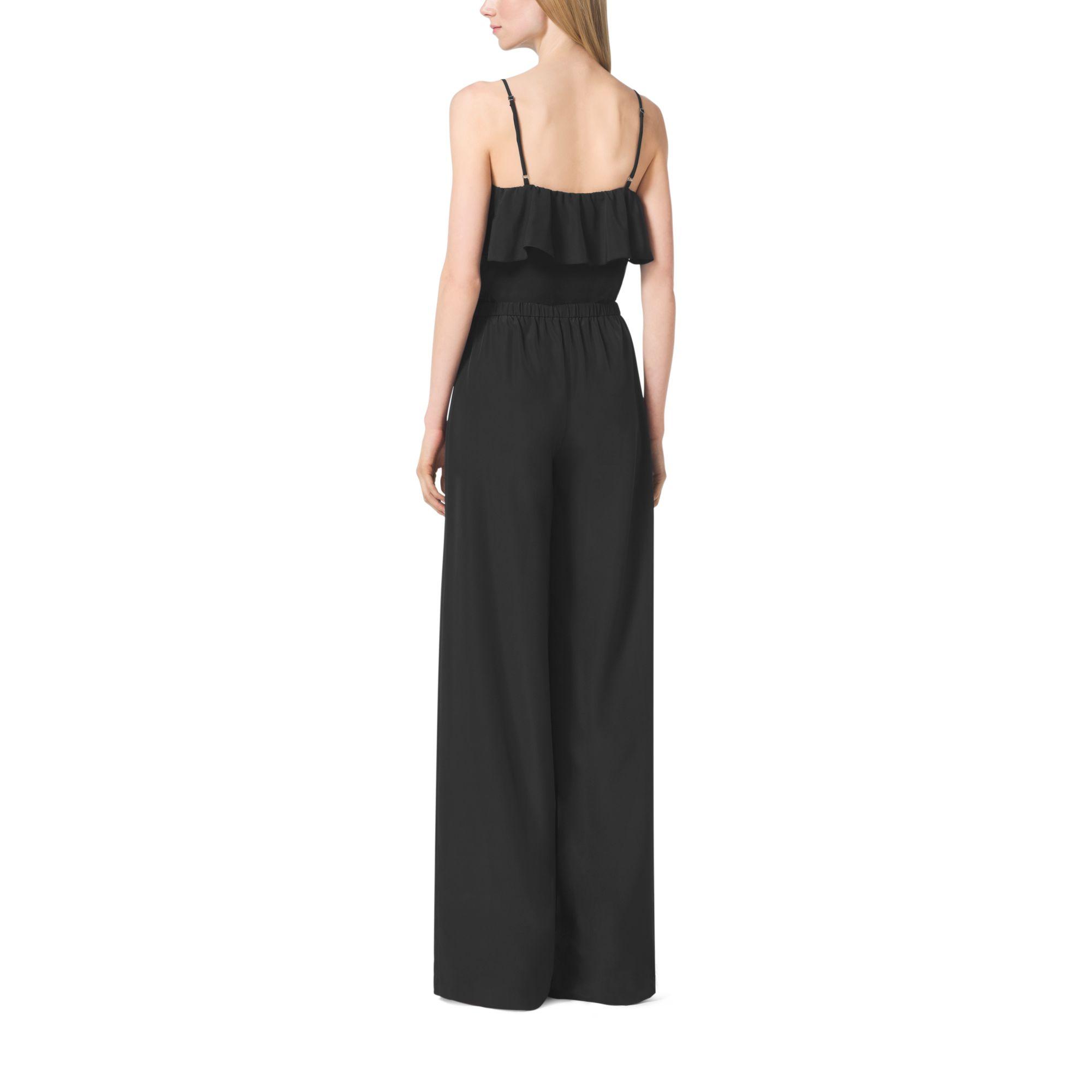 Black dress jumpsuit michael