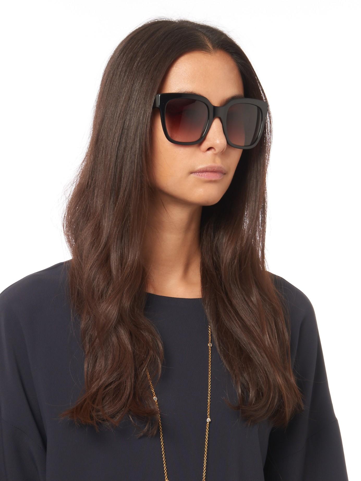 Max Mara Modern Sunglasses In Black Lyst