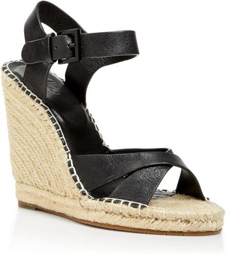 joie open toe platform espadrille wedge sandals lena in