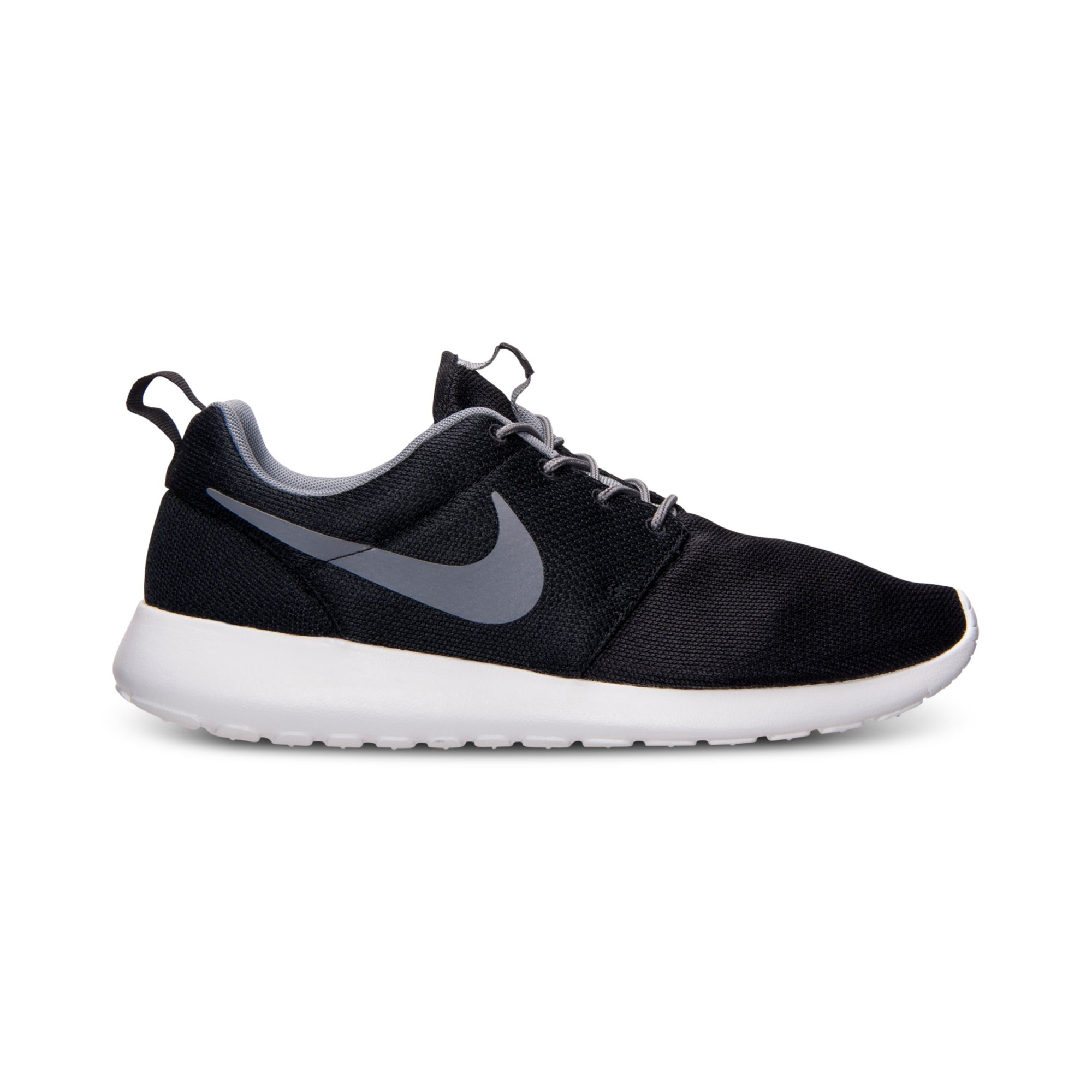 nike mens roshe run casual sneakers from finish line in