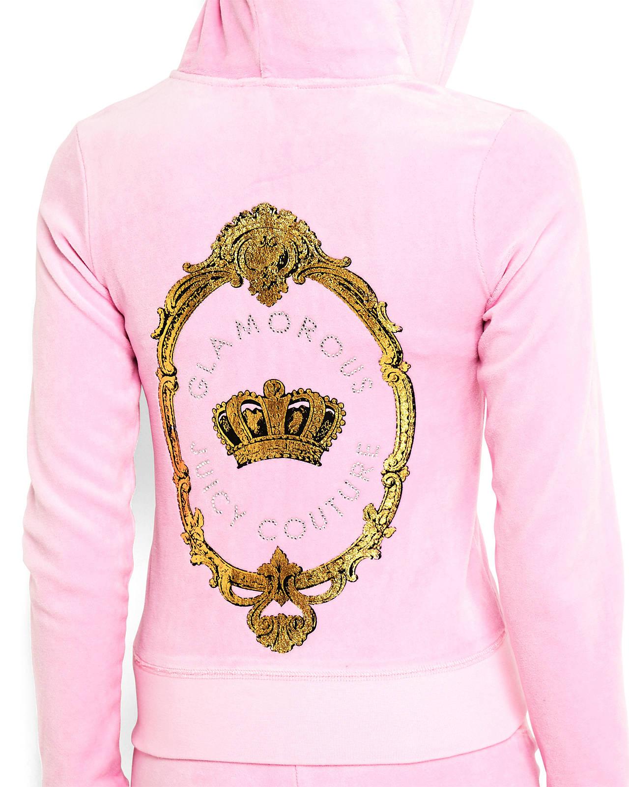 Juicy couture Slim Fit Crown Velour Hoodie in Pink ...Juicy Couture Crown Tattoo