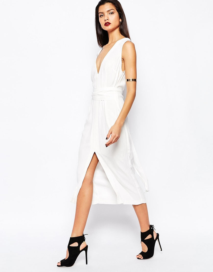 Lyst - Bec   Bridge Wildflower Dress in White b132f8b3f