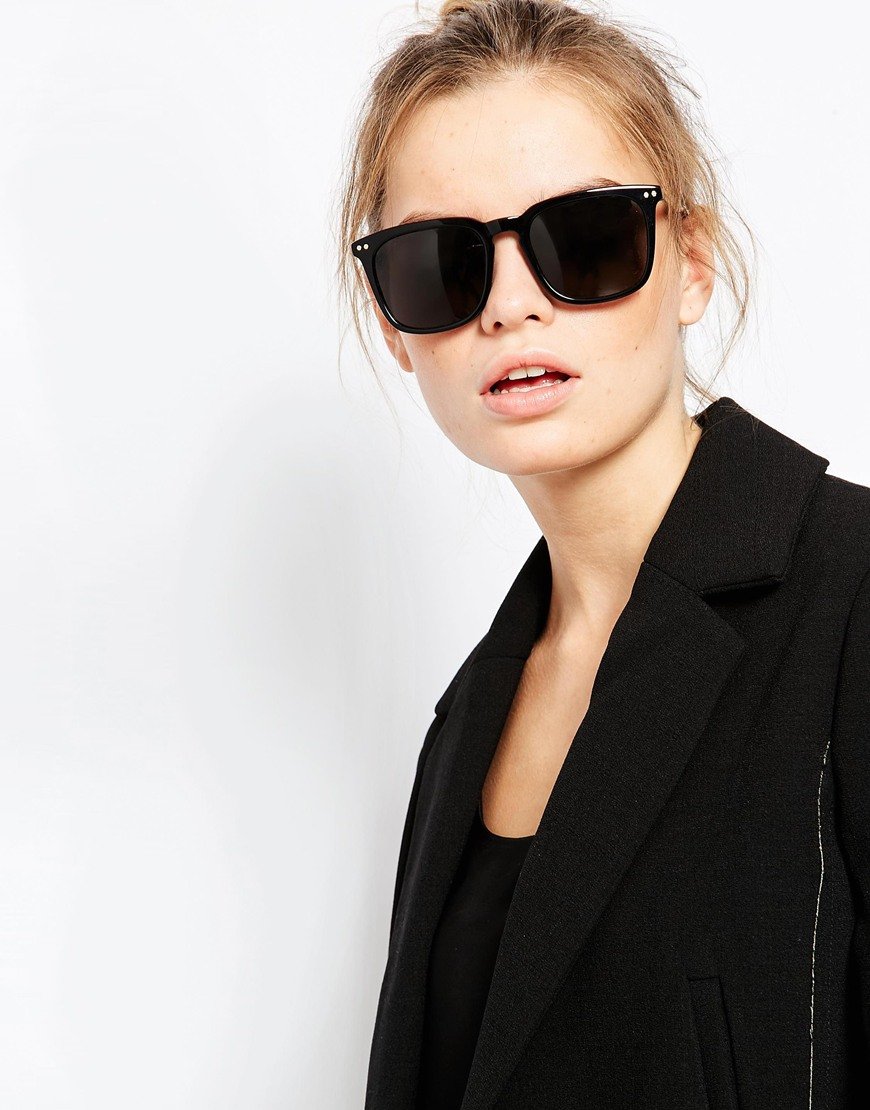 0a3f62dcabd Vivienne westwood Anglomania Sunglasses With Metal Arms in Black