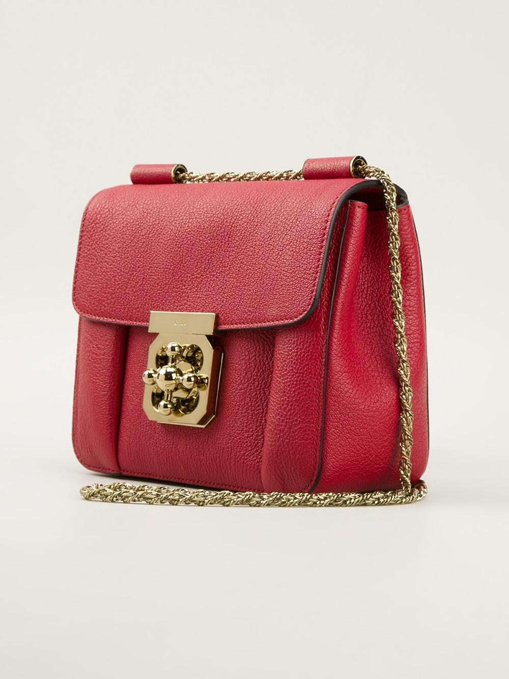 058aceb05bc Chlo¨¦ Elsie Shoulder Bag in Red