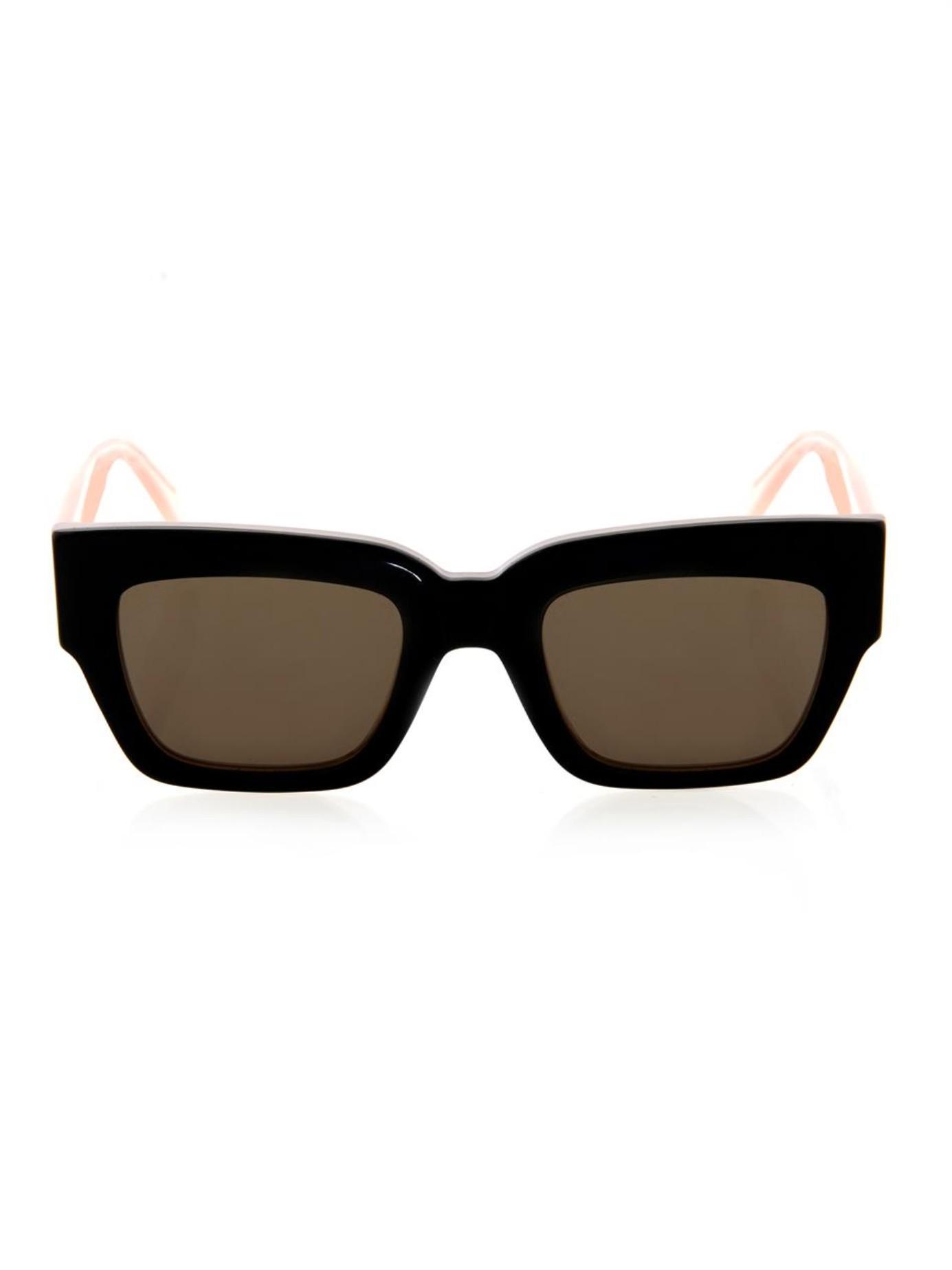 e99237a2c71 Black Celine Square Frame Eyeglasses