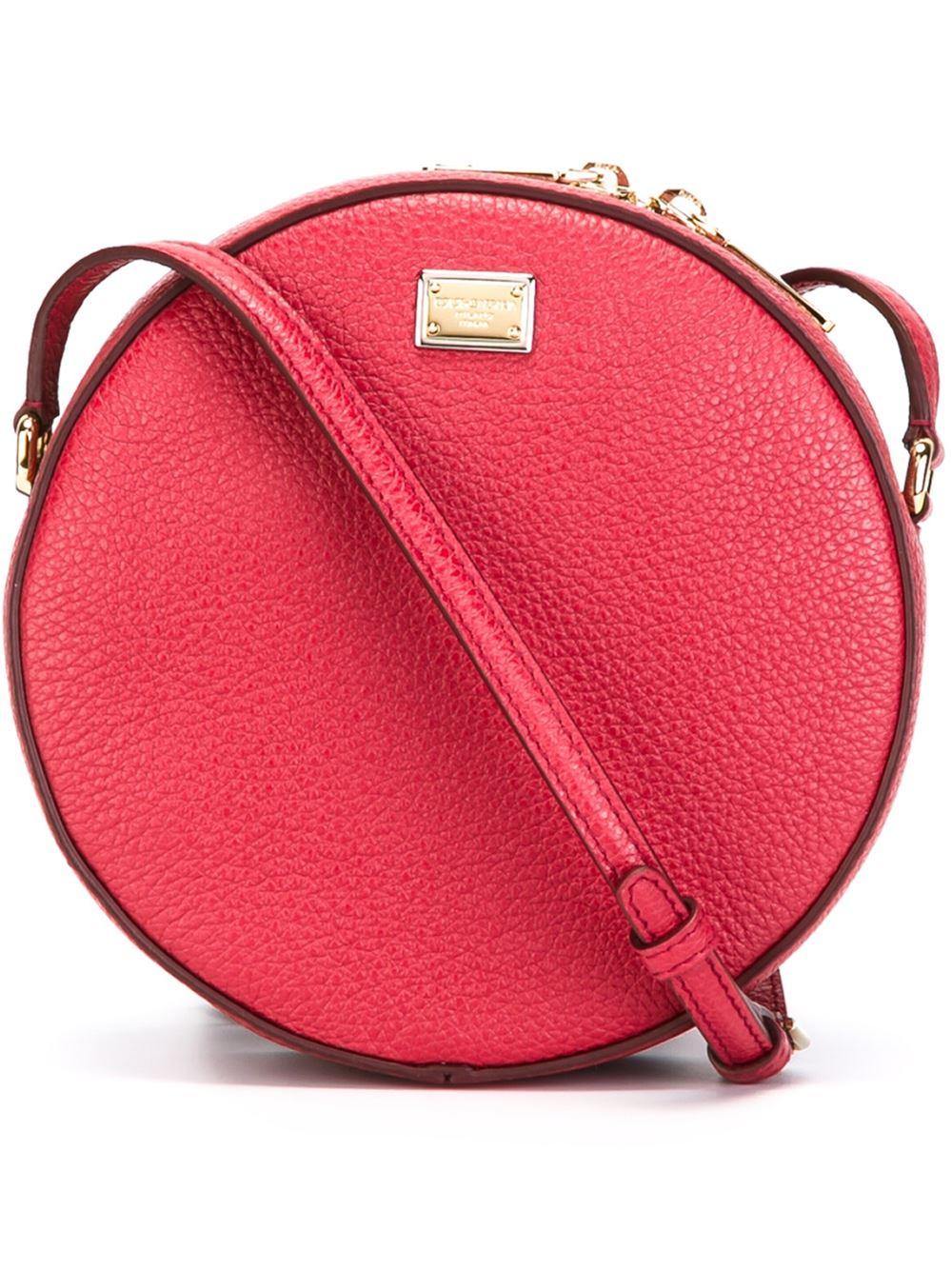 234f0bcb3c96 Dolce   Gabbana Anna Mini Bag in Red - Lyst