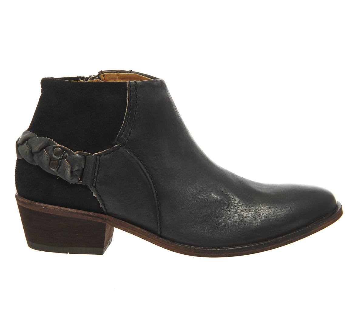 h by hudson triad ankle boots in black lyst