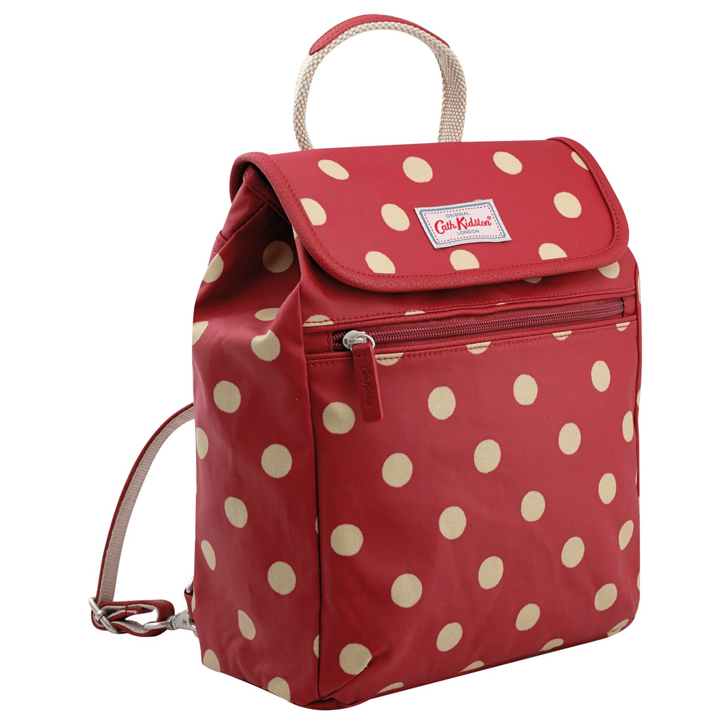 lyst cath kidston button spot backpack in red. Black Bedroom Furniture Sets. Home Design Ideas